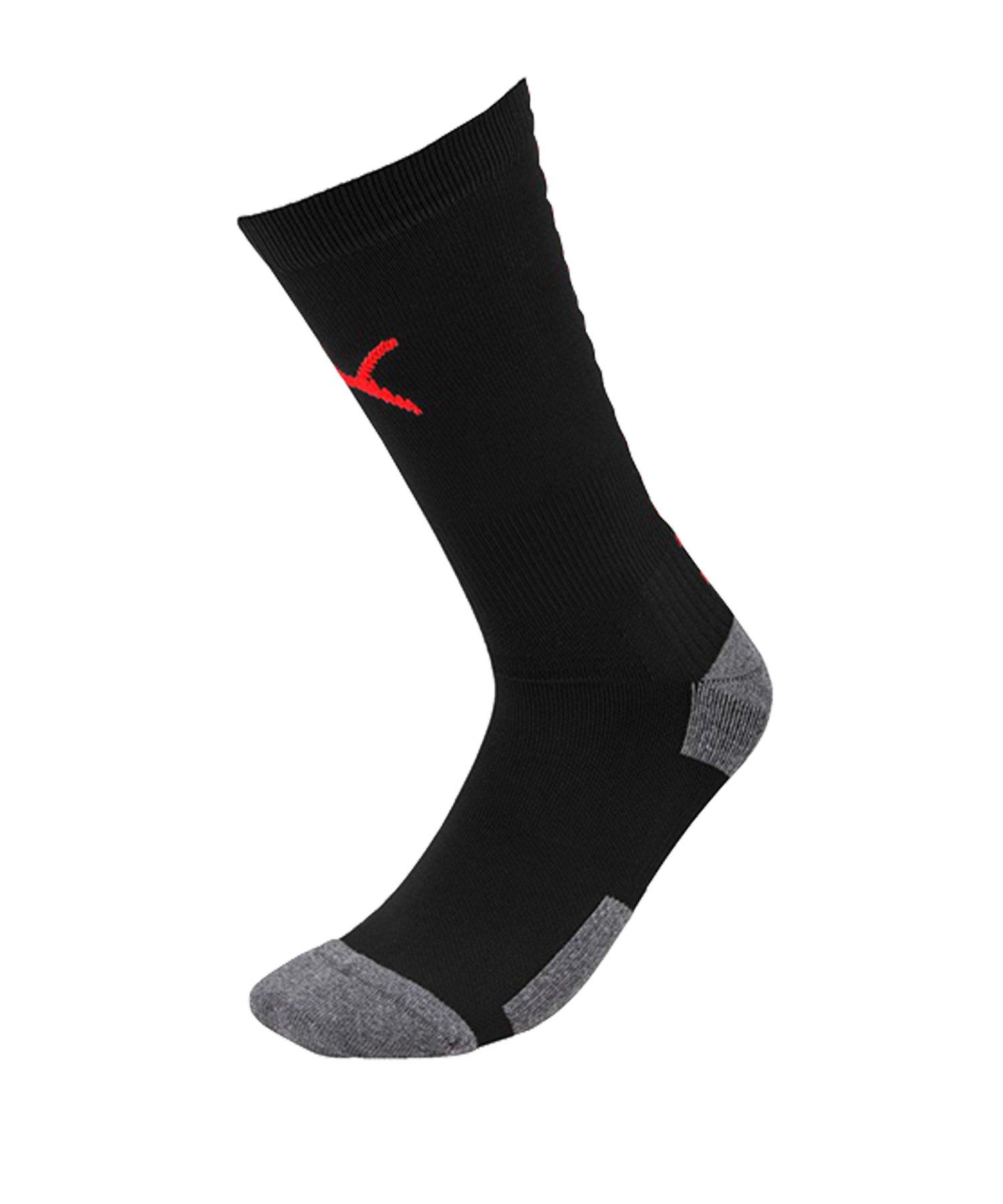 PUMA ftblNXT Team Socks Socken Schwarz Rot F01 - schwarz