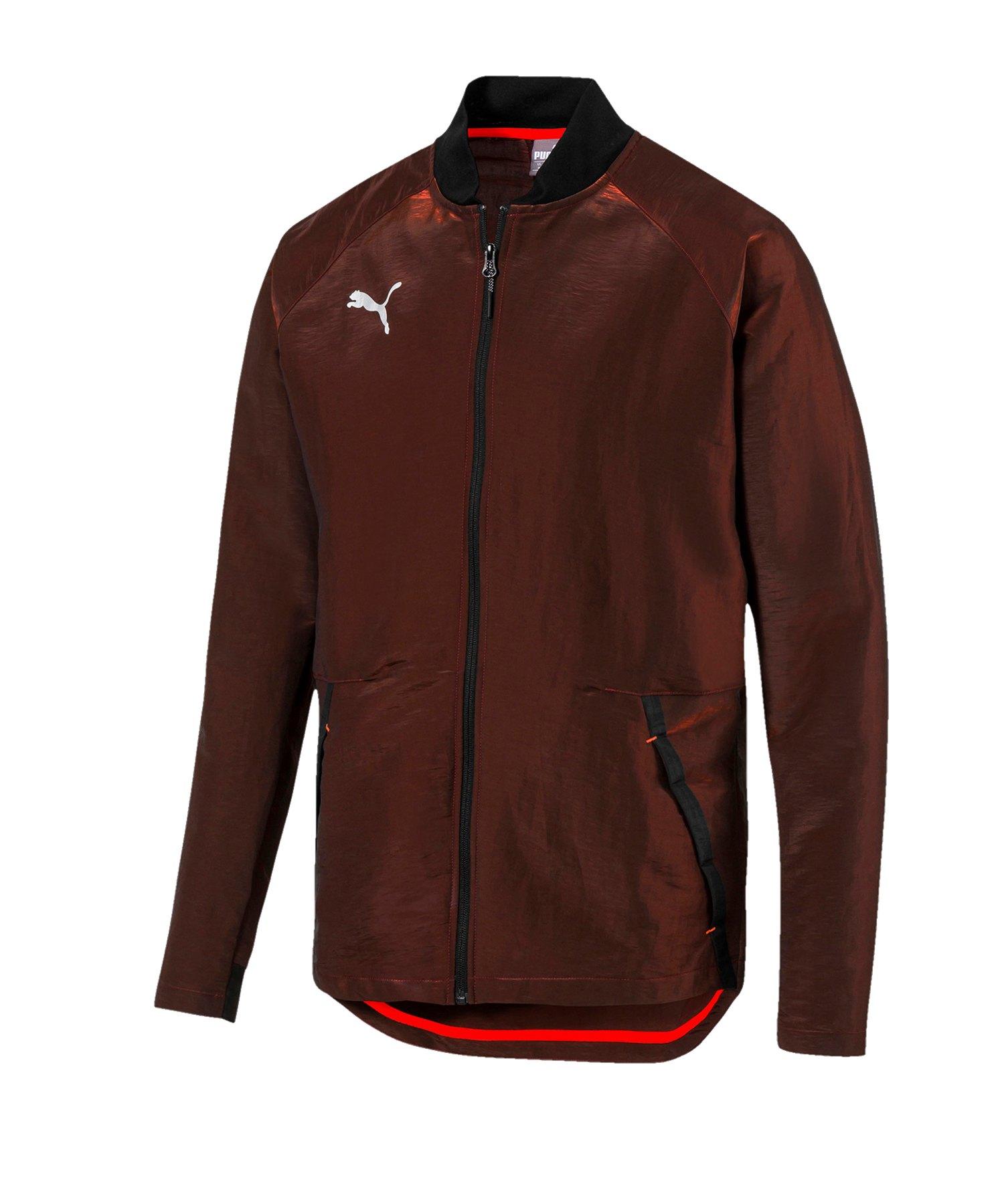 PUMA ftblNXT Pro Jacket Jacke Rot Schwarz F01 - rot