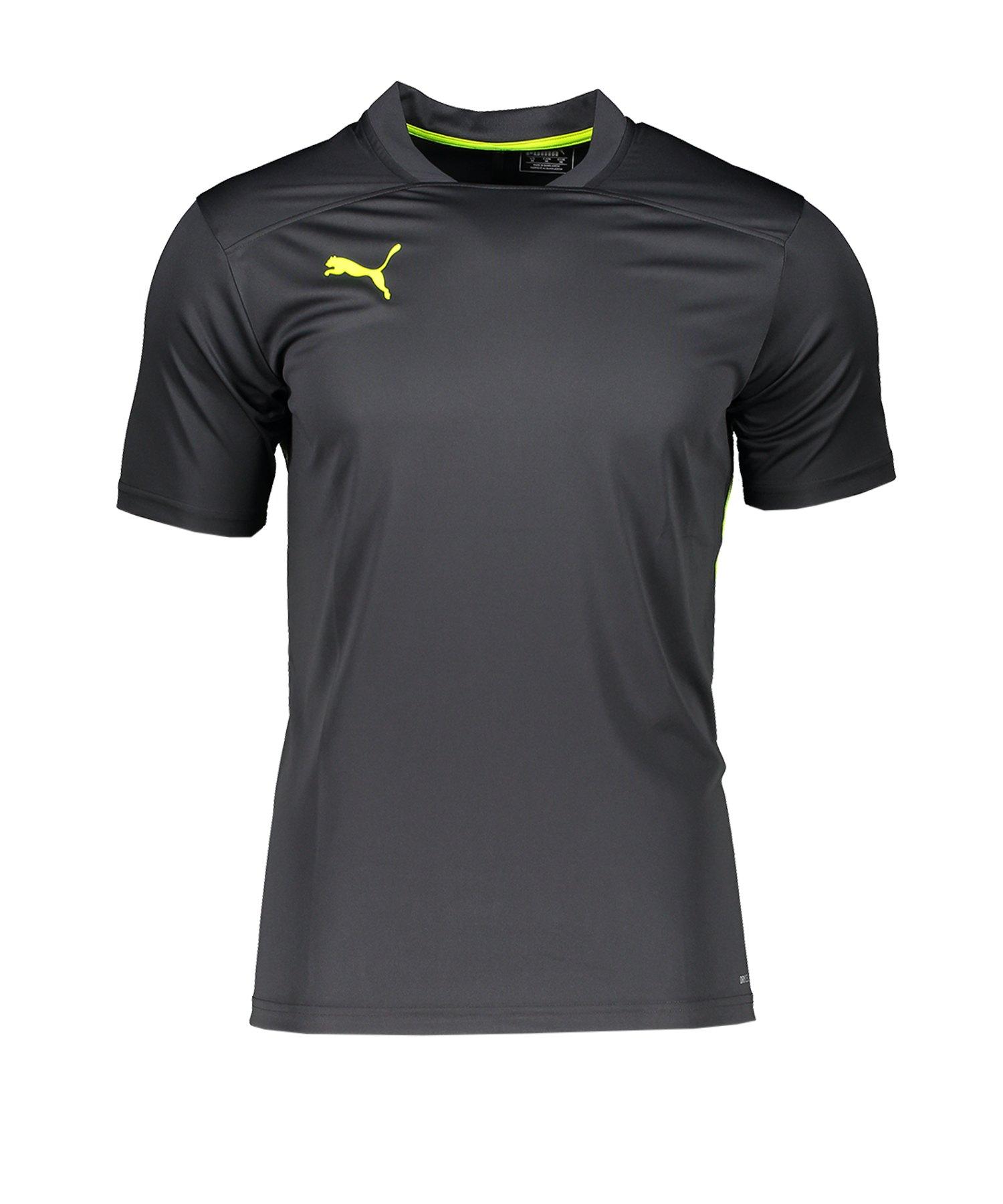 PUMA ftblNXT Shirt Schwarz Gelb F002 - schwarz