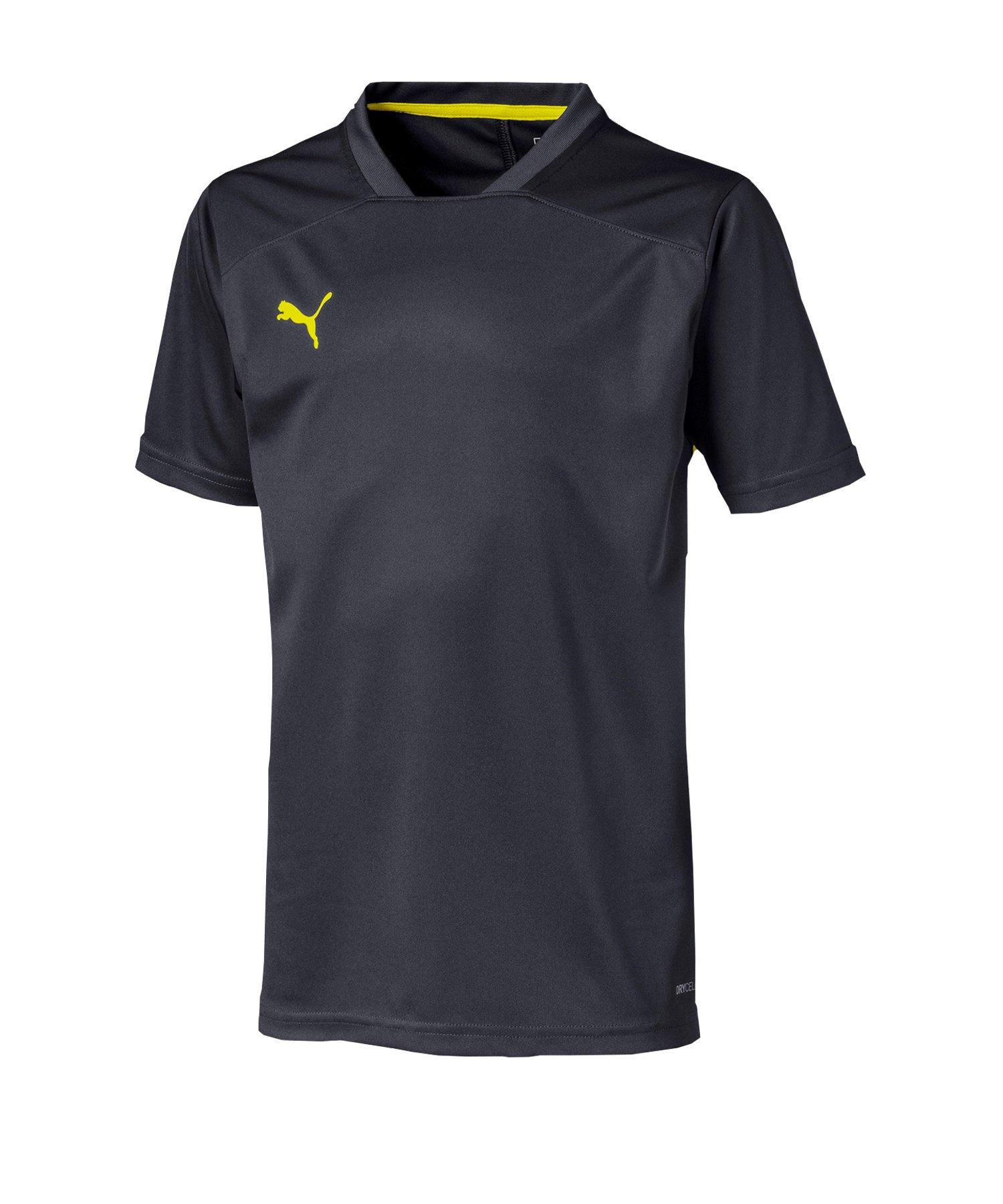 PUMA ftblNXT T-Shirt Kids Schwarz Gelb F02 - schwarz