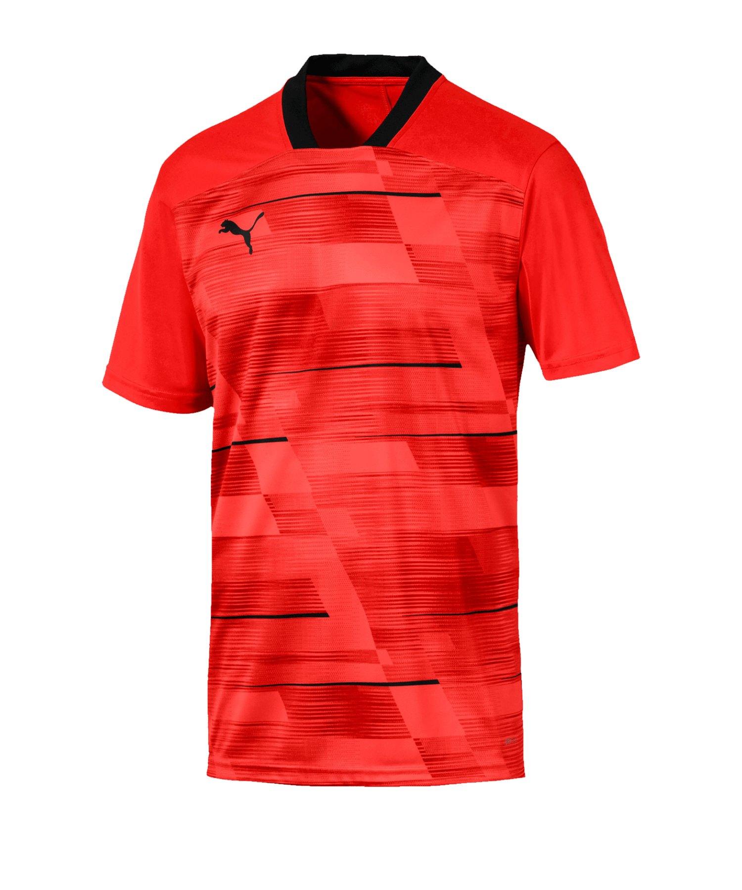 PUMA ftblNXT Graphic T-Shirt Rot Schwarz F003 - rot