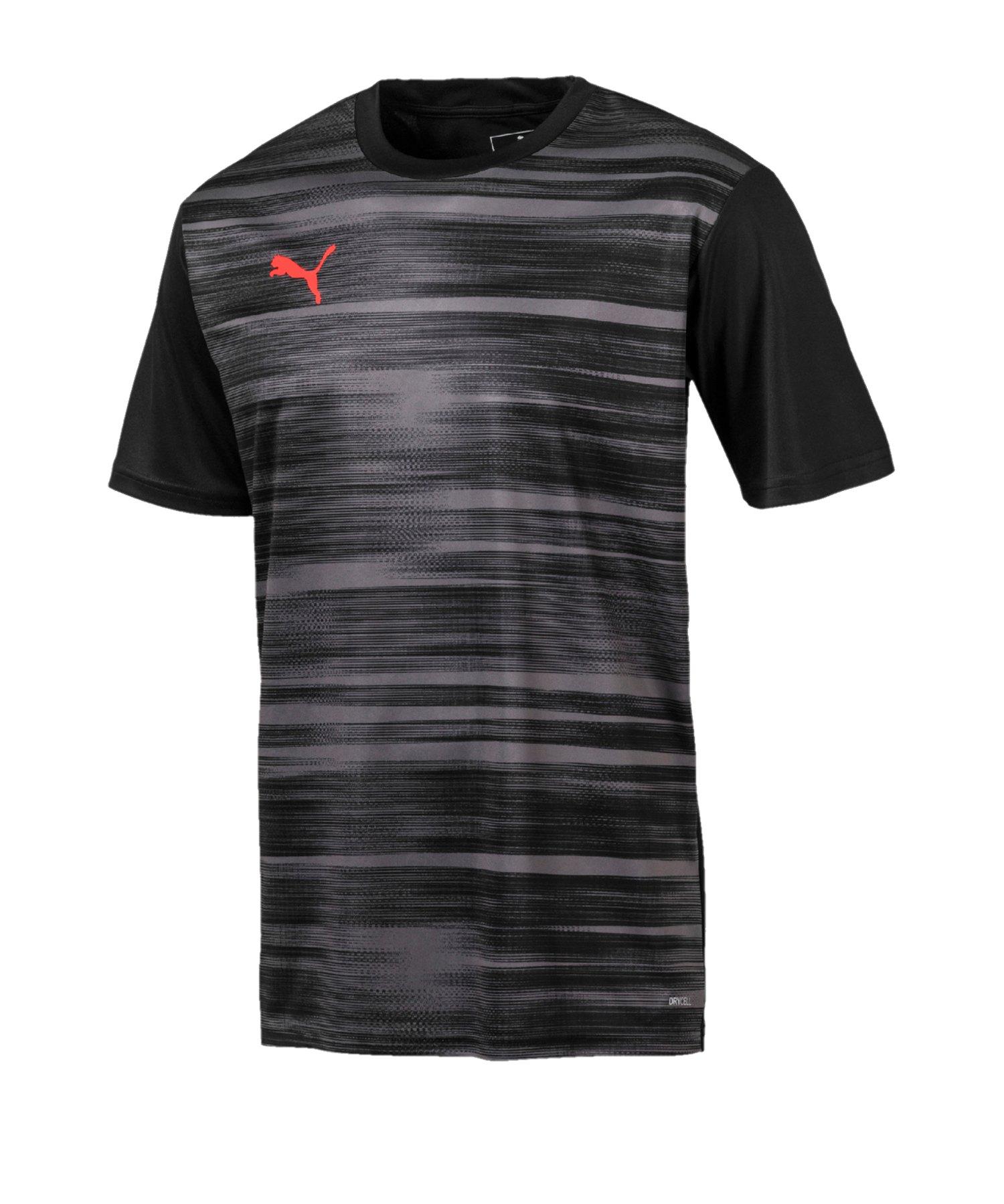 PUMA ftblNXT Graphic Shirt Core Schwarz Grau F01 - schwarz