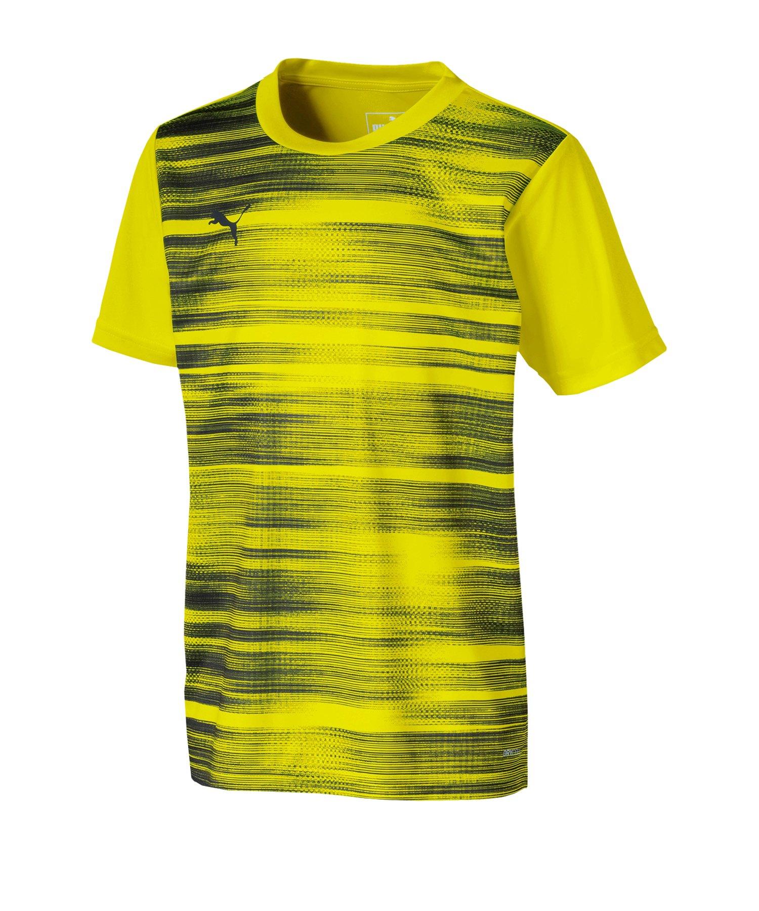 PUMA ftblNXT Graphic Shirt Core Kids Gelb F004 - gelb