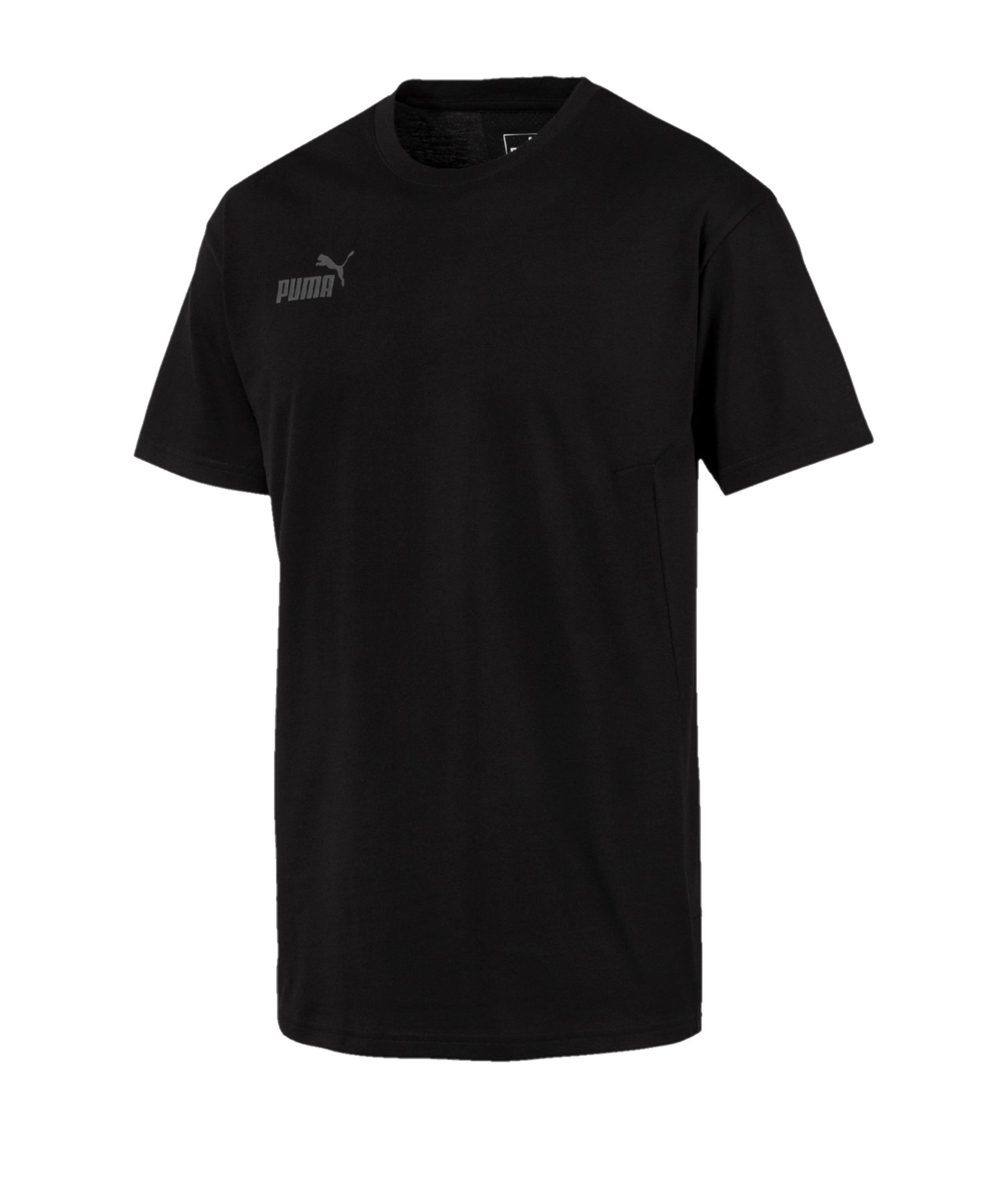 PUMA ftblNXT Casuals T-Shirt Schwarz F03 - schwarz