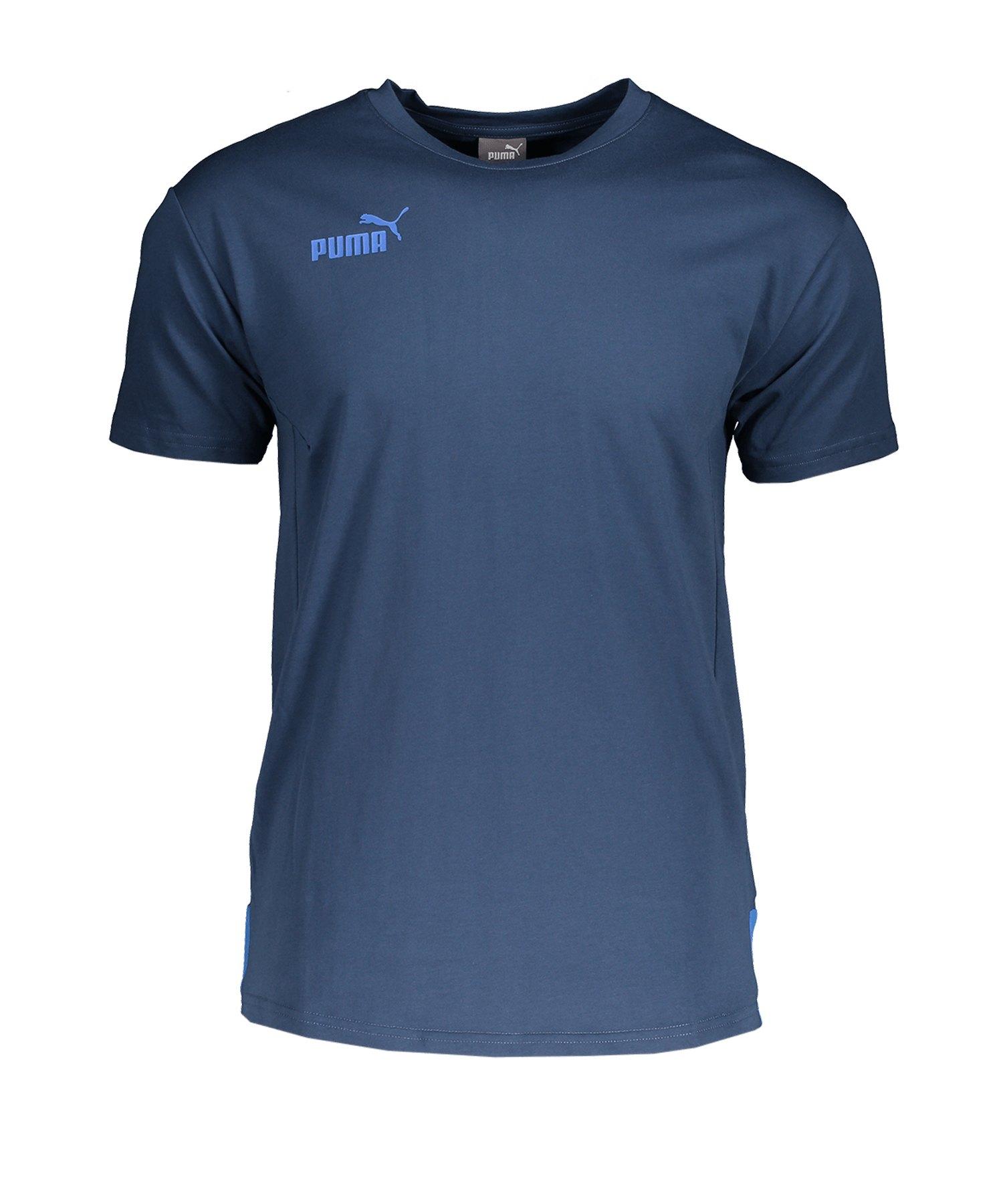 PUMA PUMA ftblNXT Casuals T-Shirt Blau F04 - blau