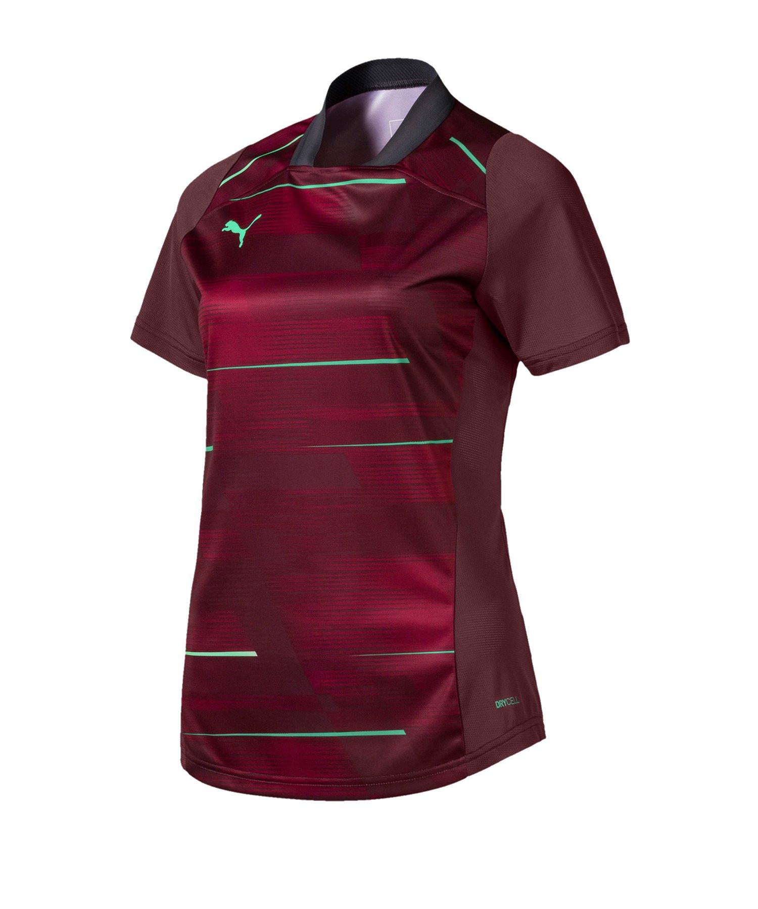 PUMA ftblNXT Graphic Shirt Damen Dunkelrot F001 - rot