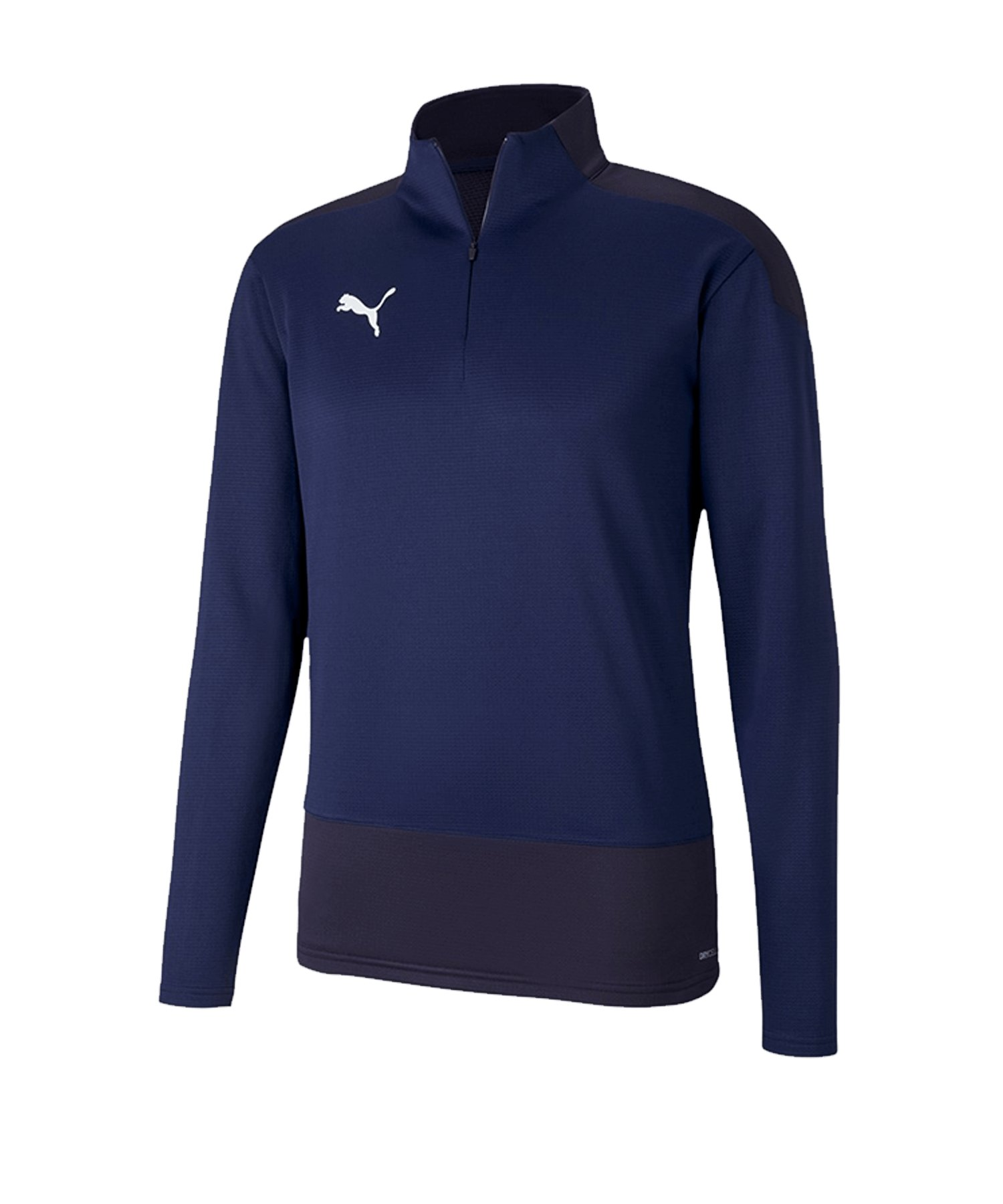 PUMA teamGOAL 23 Training 1/4 Zip Top Blau F06 - blau