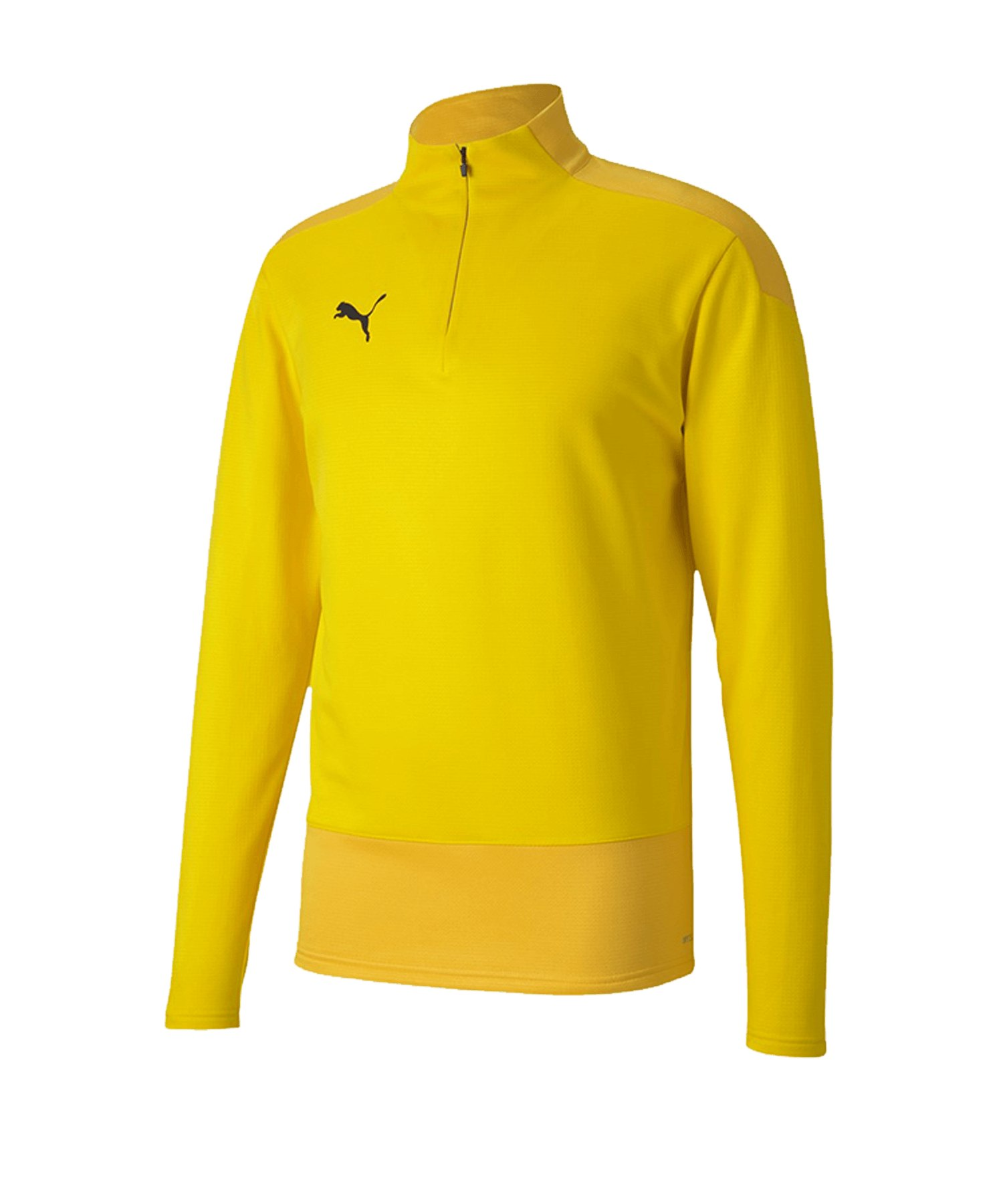 PUMA teamGOAL 23 Training 1/4 Zip Top Gelb F07 - gelb