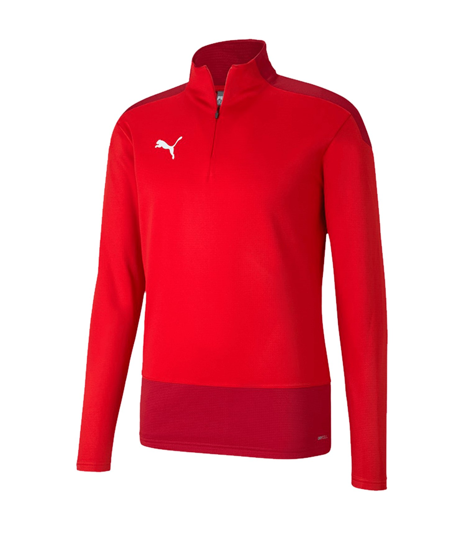 PUMA teamGOAL 23 Training 1/4 Zip Top Rot F01 - rot