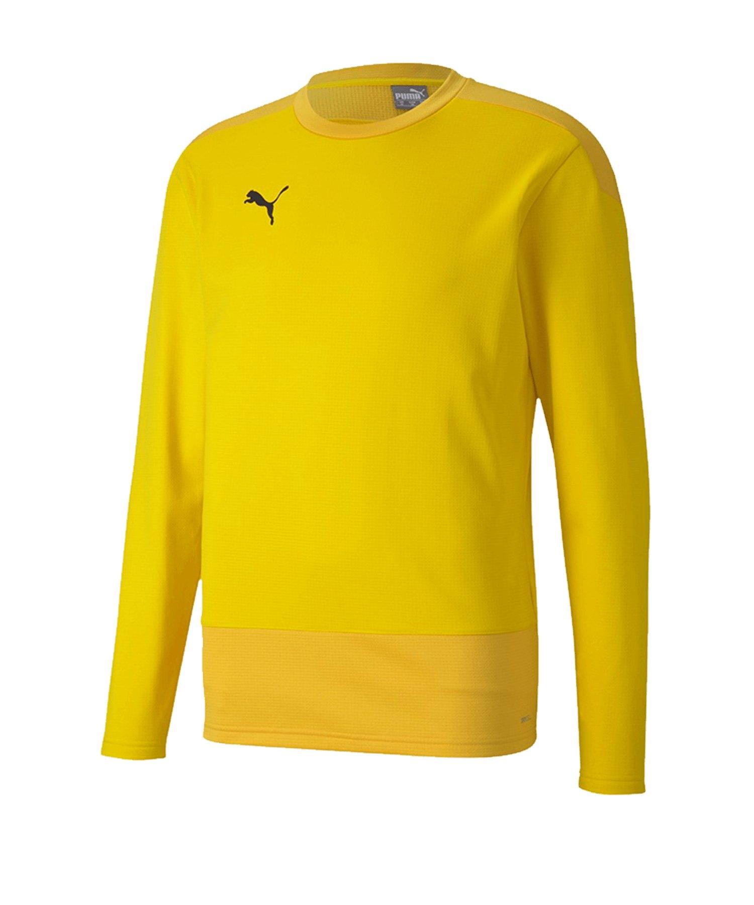 PUMA teamGOAL 23 Training Sweatshirt Gelb F07 - gelb