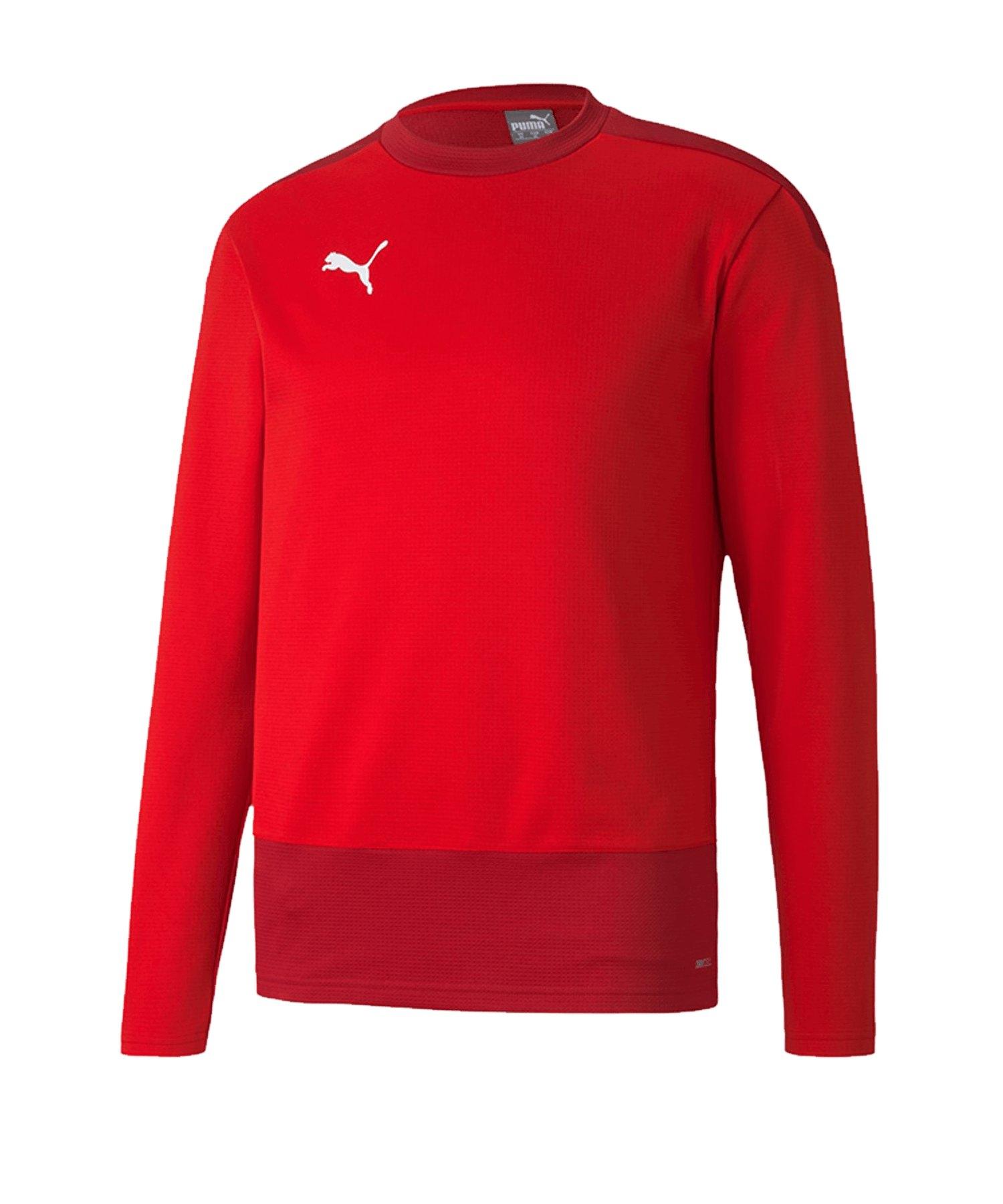 PUMA teamGOAL 23 Training Sweatshirt Rot F01 - rot