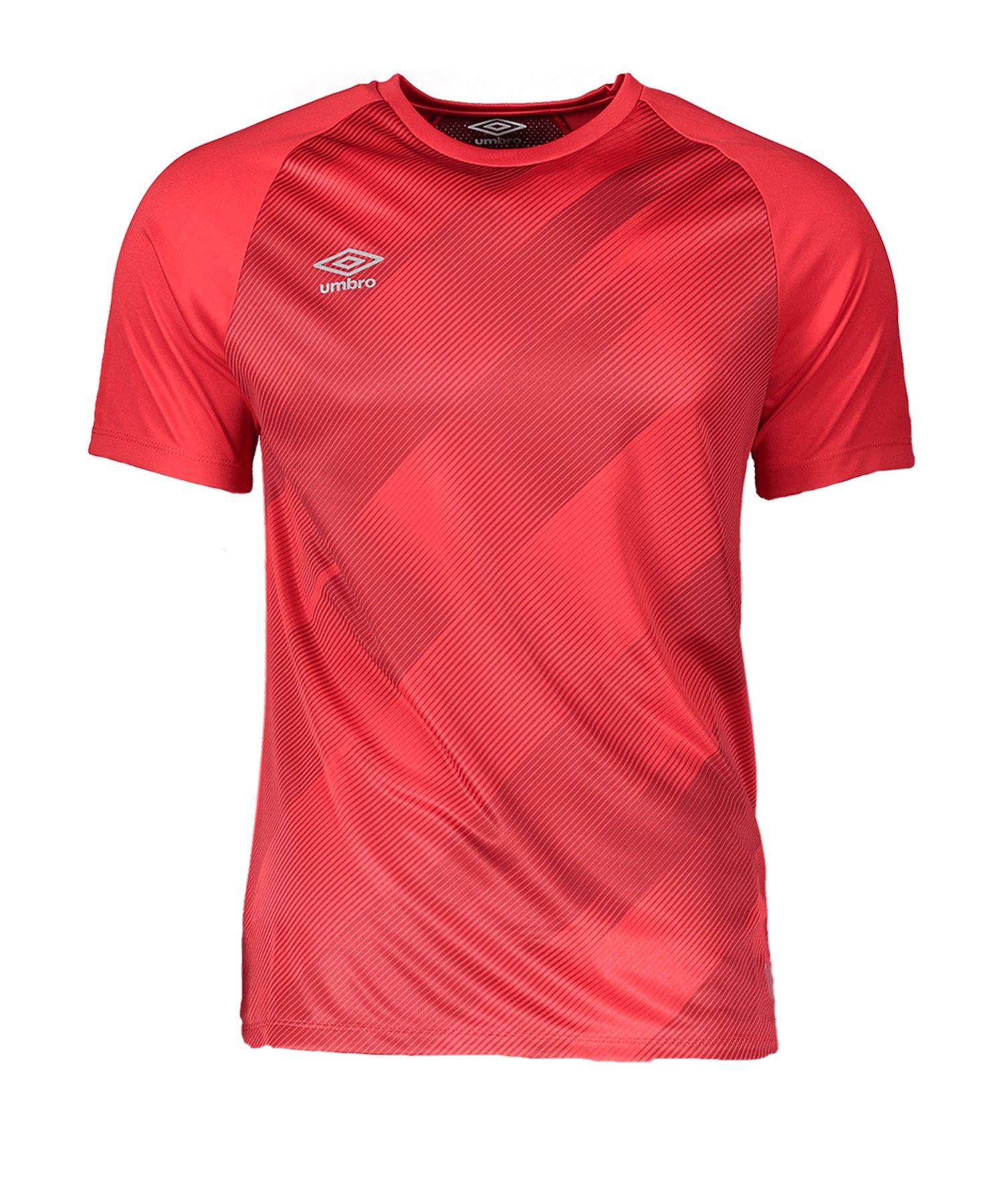 Umbro Training Graphic Tee T-Shirt Rot HVF - rot