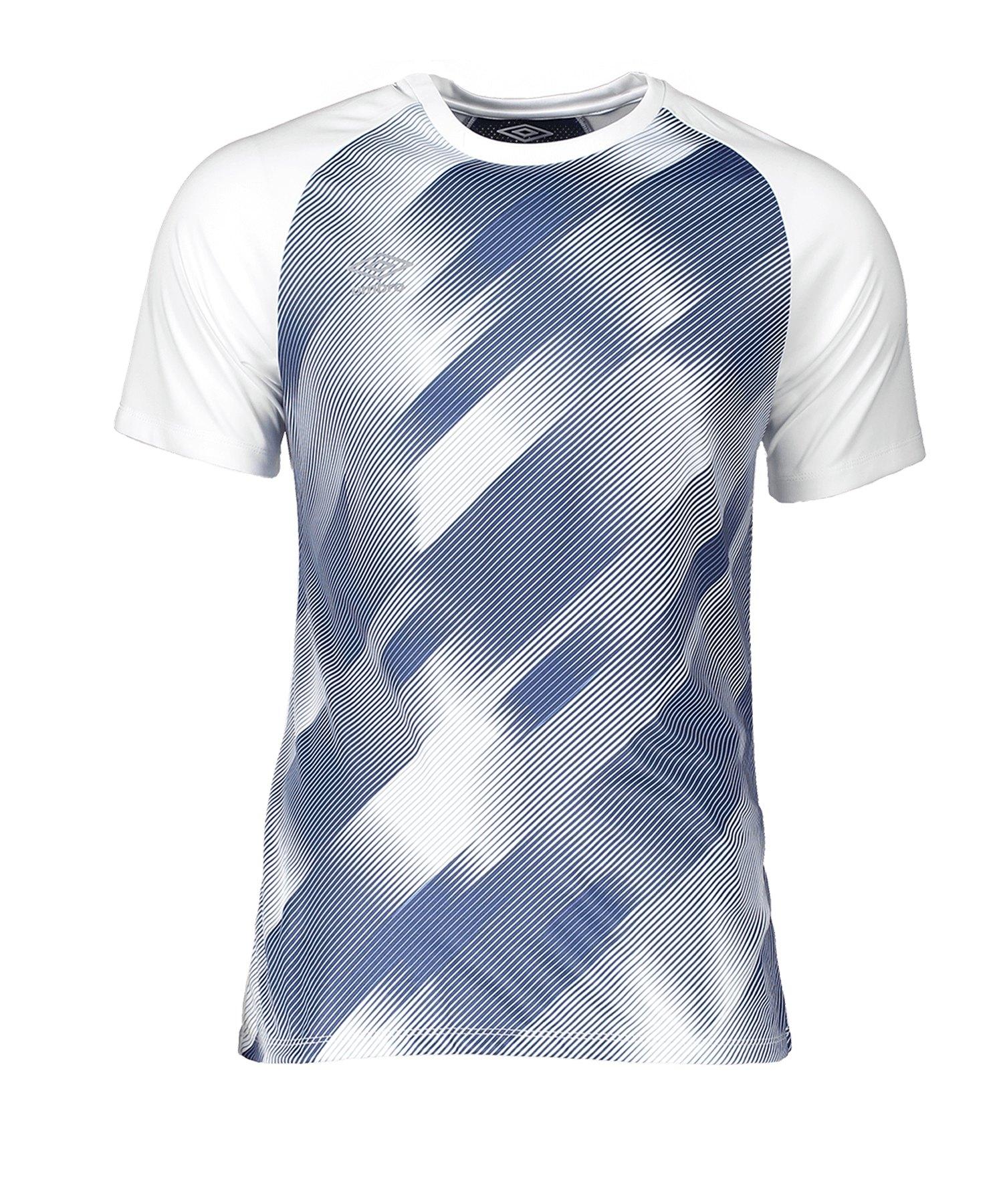 Umbro Training Graphic Tee T-Shirt Weiss 13V - weiss