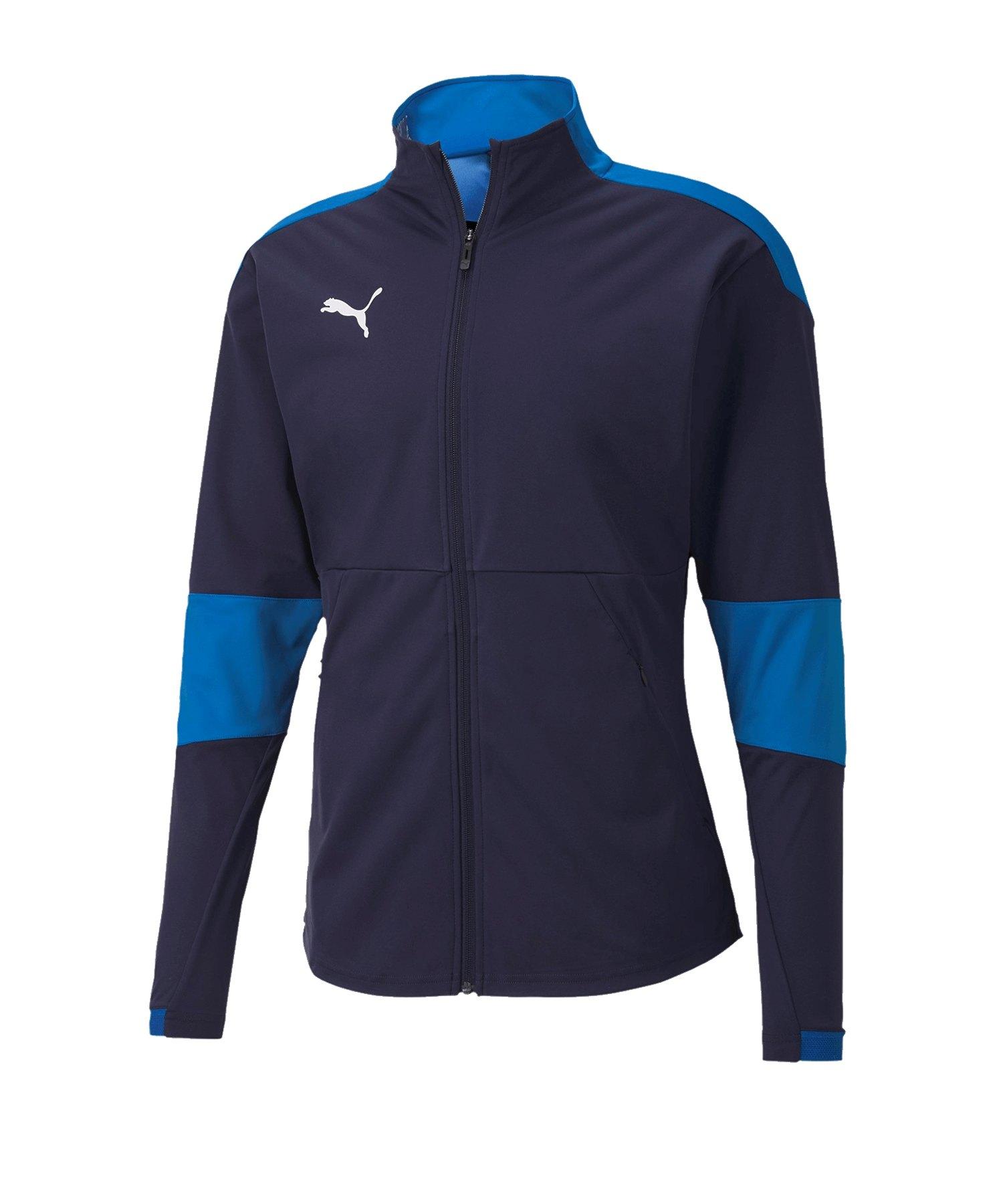 PUMA teamFINAL 21 Sideline Trainingsjacke Blau F02 - blau