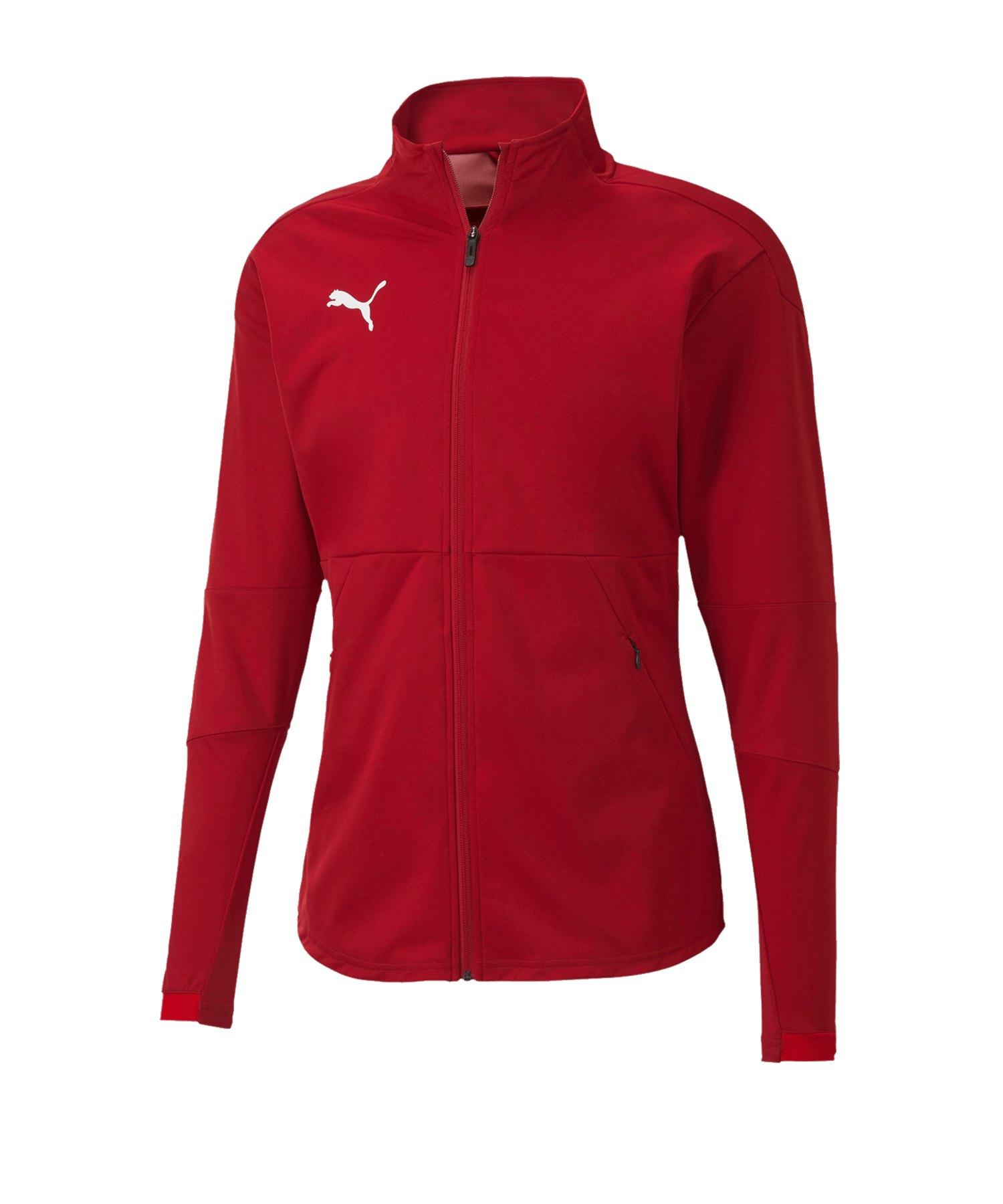 PUMA teamFINAL 21 Sideline Trainingsjacke Rot F01 - rot