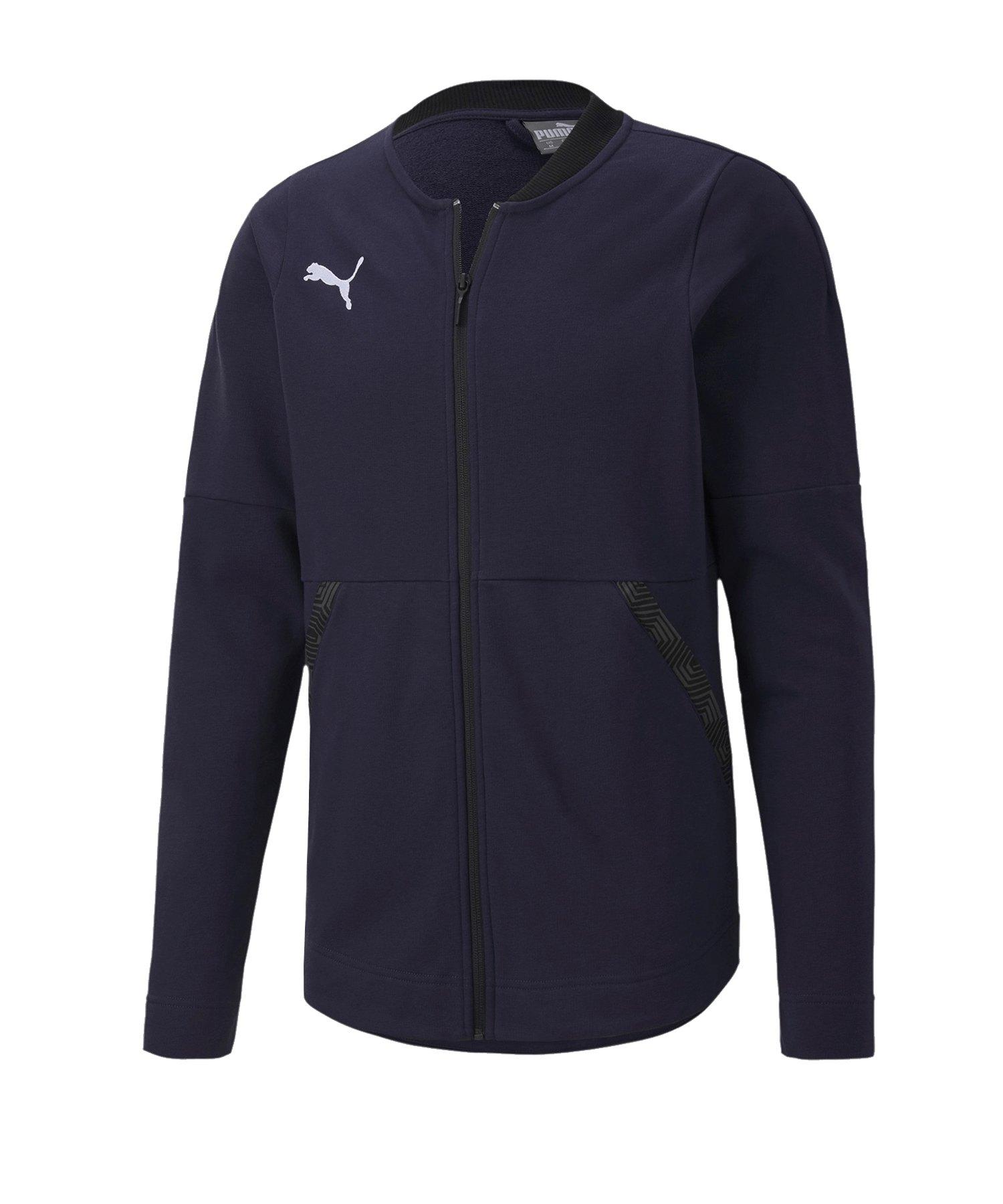PUMA teamFINAL 21 Casuals Jacket Jacke Blau F06 - blau