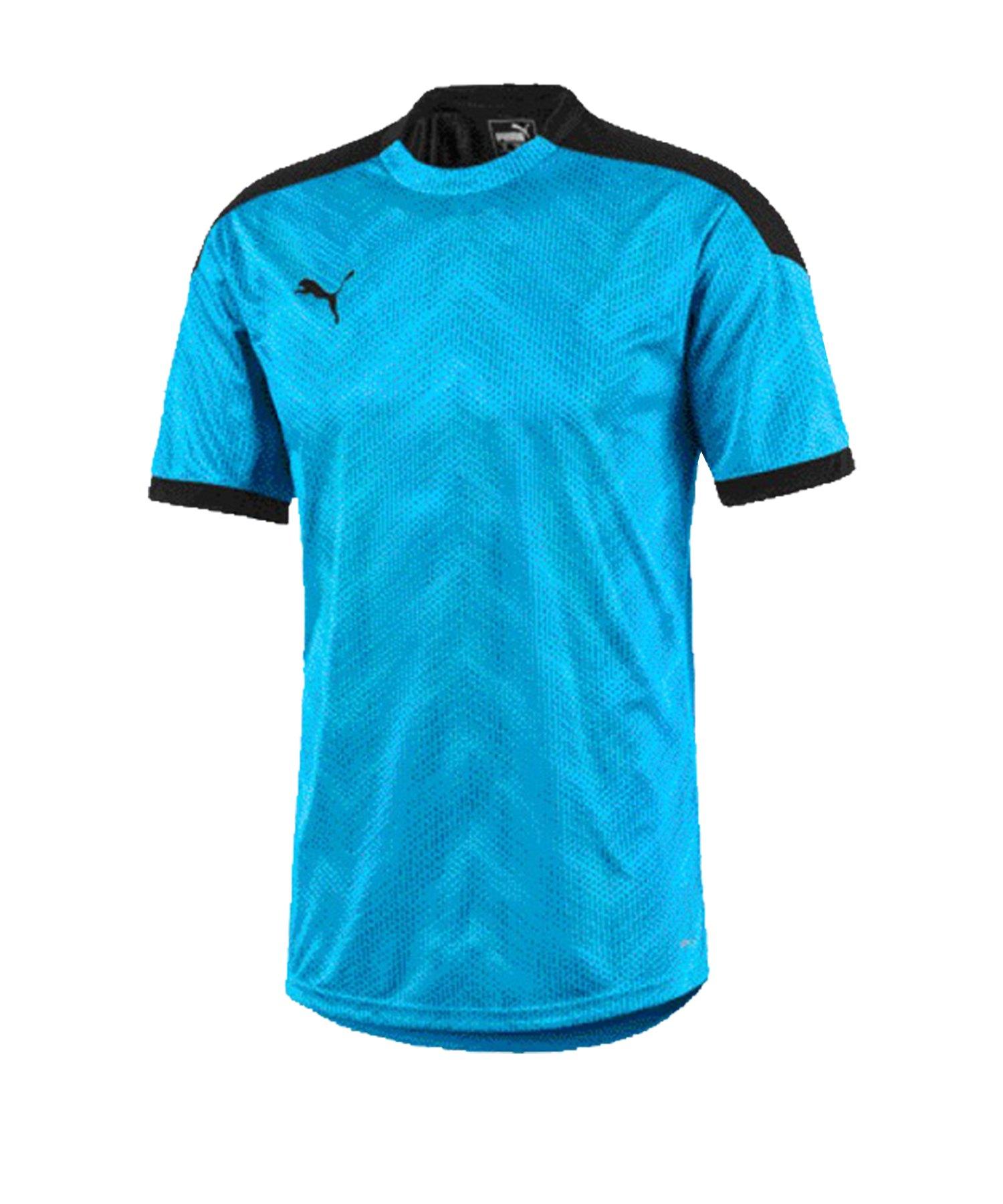 PUMA ftblNXT Graphic T-Shirt Kids Blau Schwarz F02 - blau