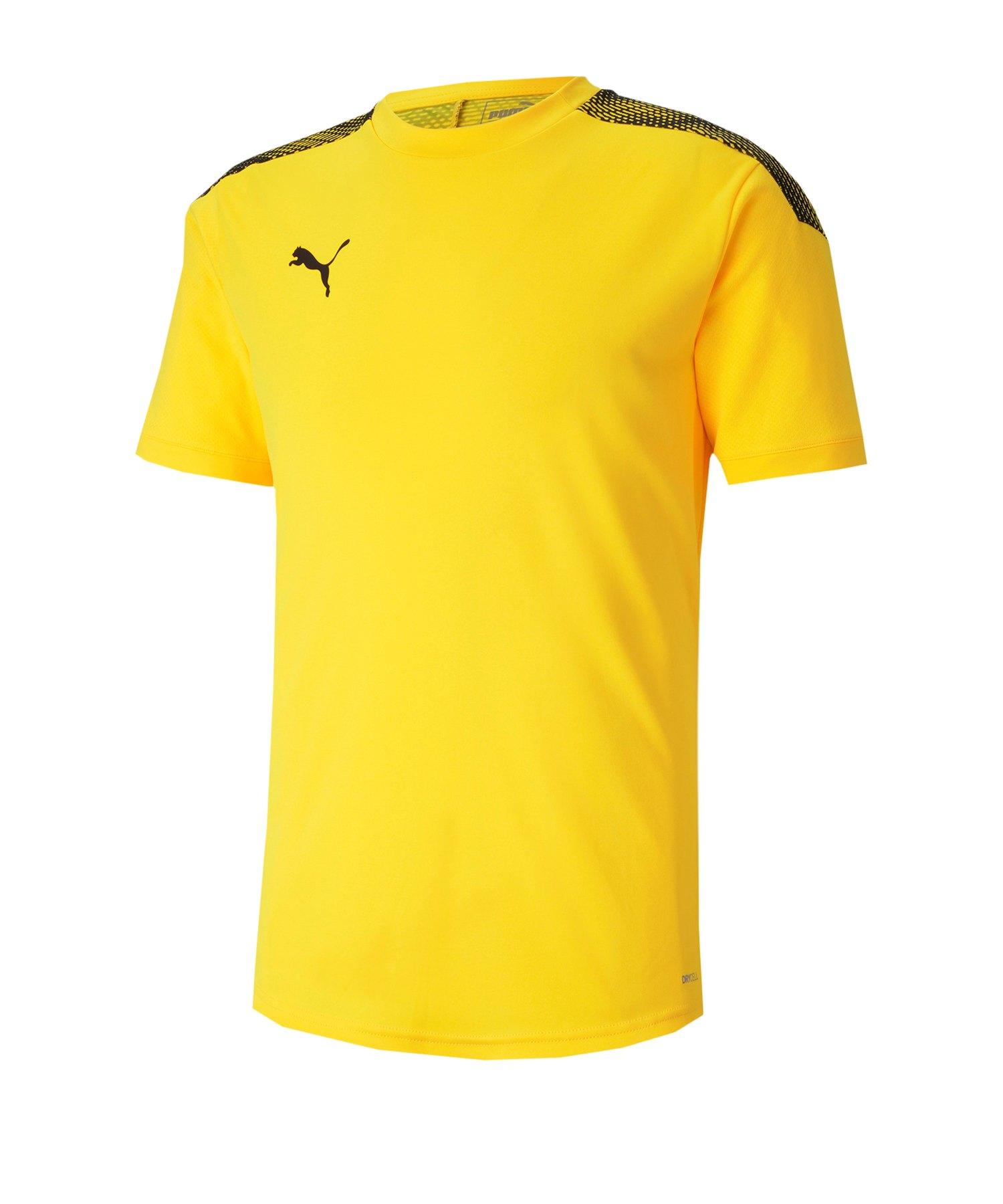 PUMA ftblNXT Pro Tee T-Shirt Gelb Schwarz F04 - gelb