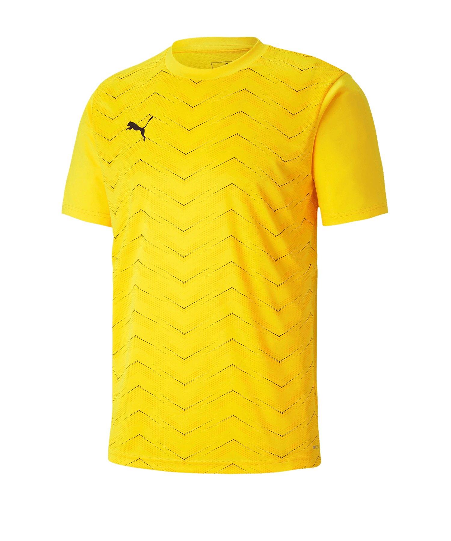 PUMA ftblNXT Graphic Core T-Shirt Gelb F04 - gelb