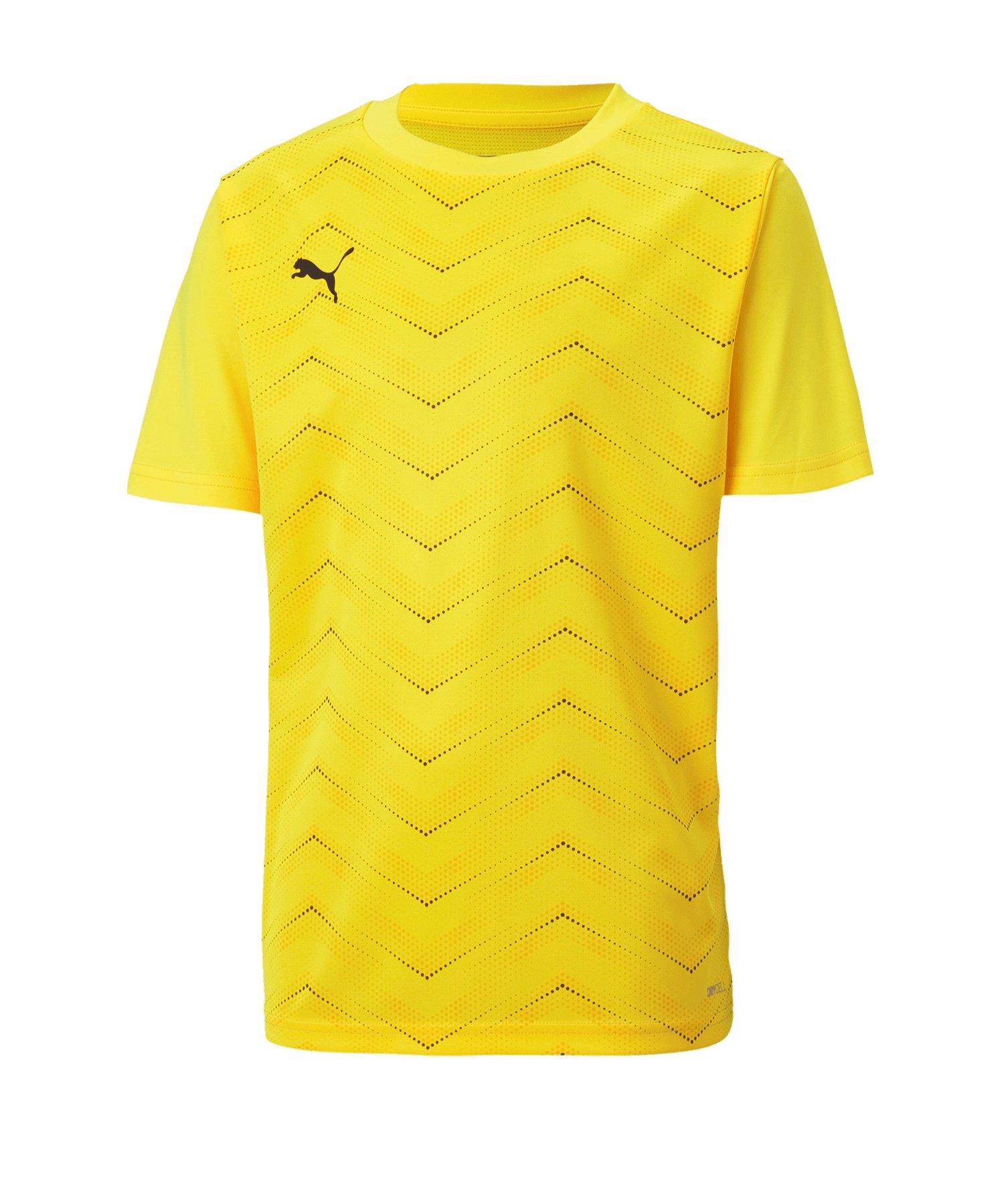 PUMA ftblNXT Graphic Core T-Shirt Kids Gelb F04 - gelb