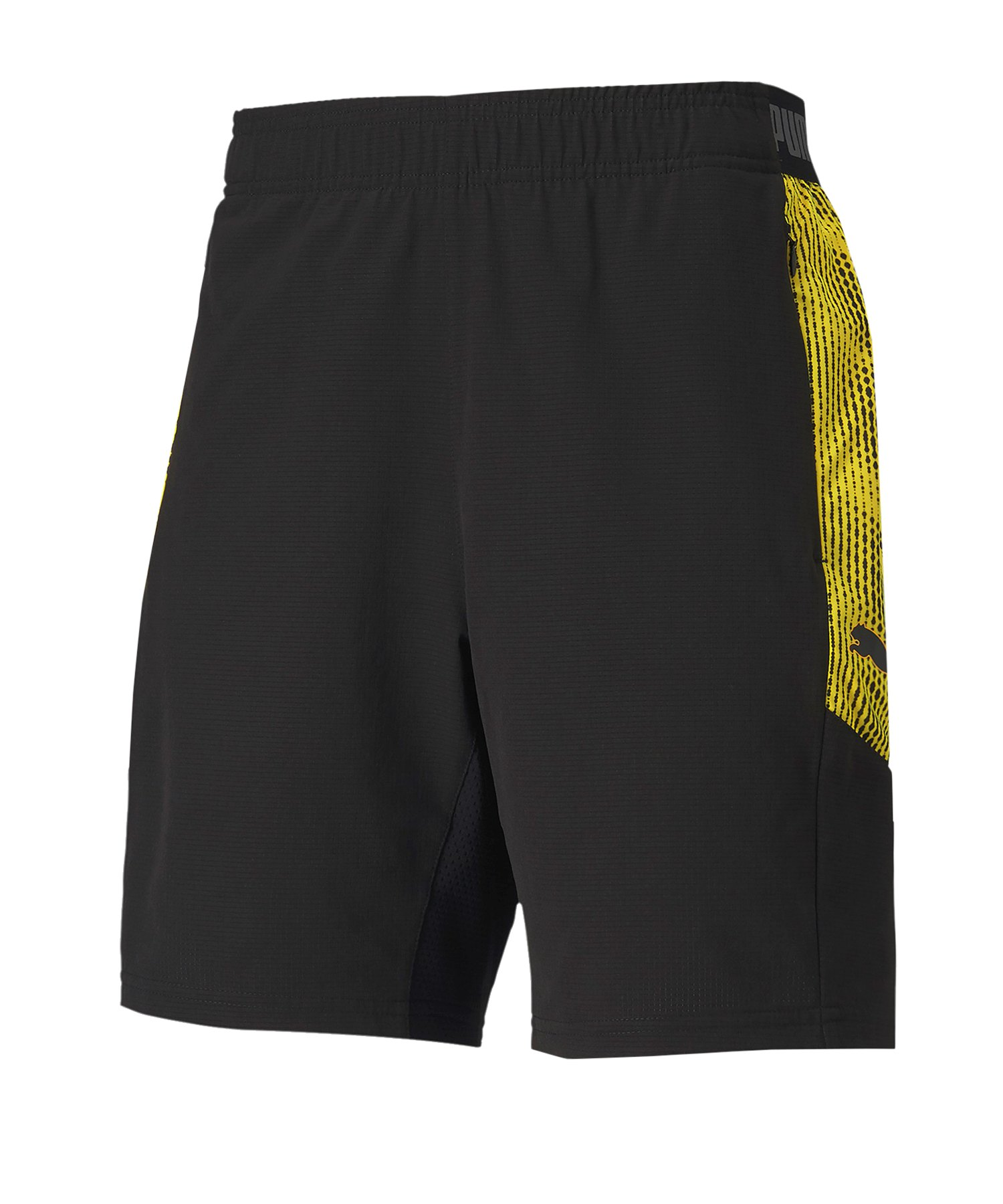PUMA ftblNXT Pro Short Schwarz Gelb F04 - schwarz