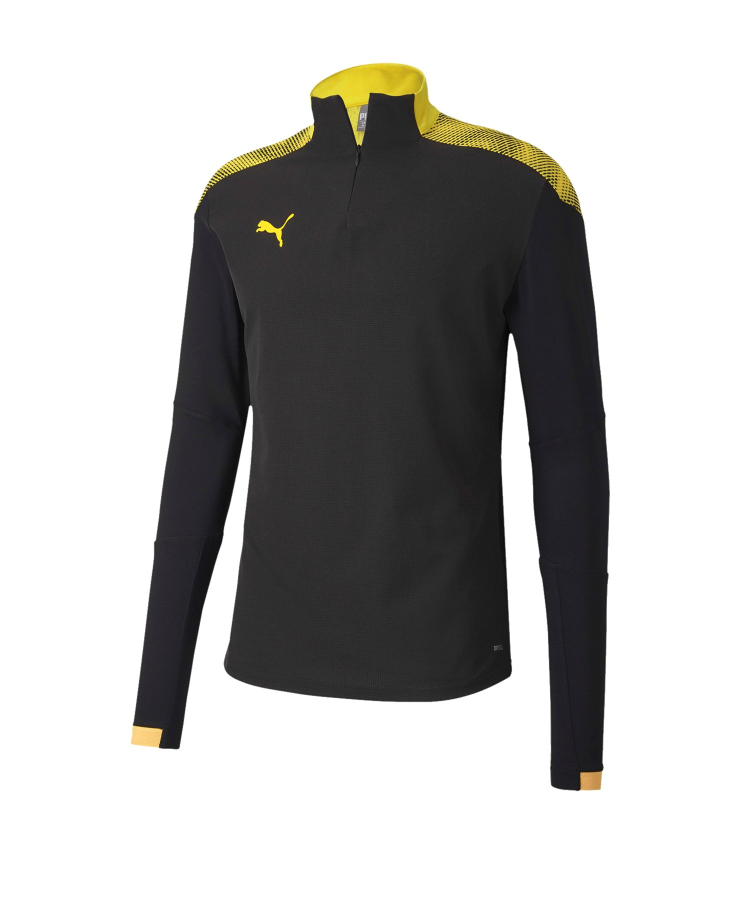 PUMA ftblNXT 1/4 Zip Top Sweatshirt Schwarz F04 - schwarz