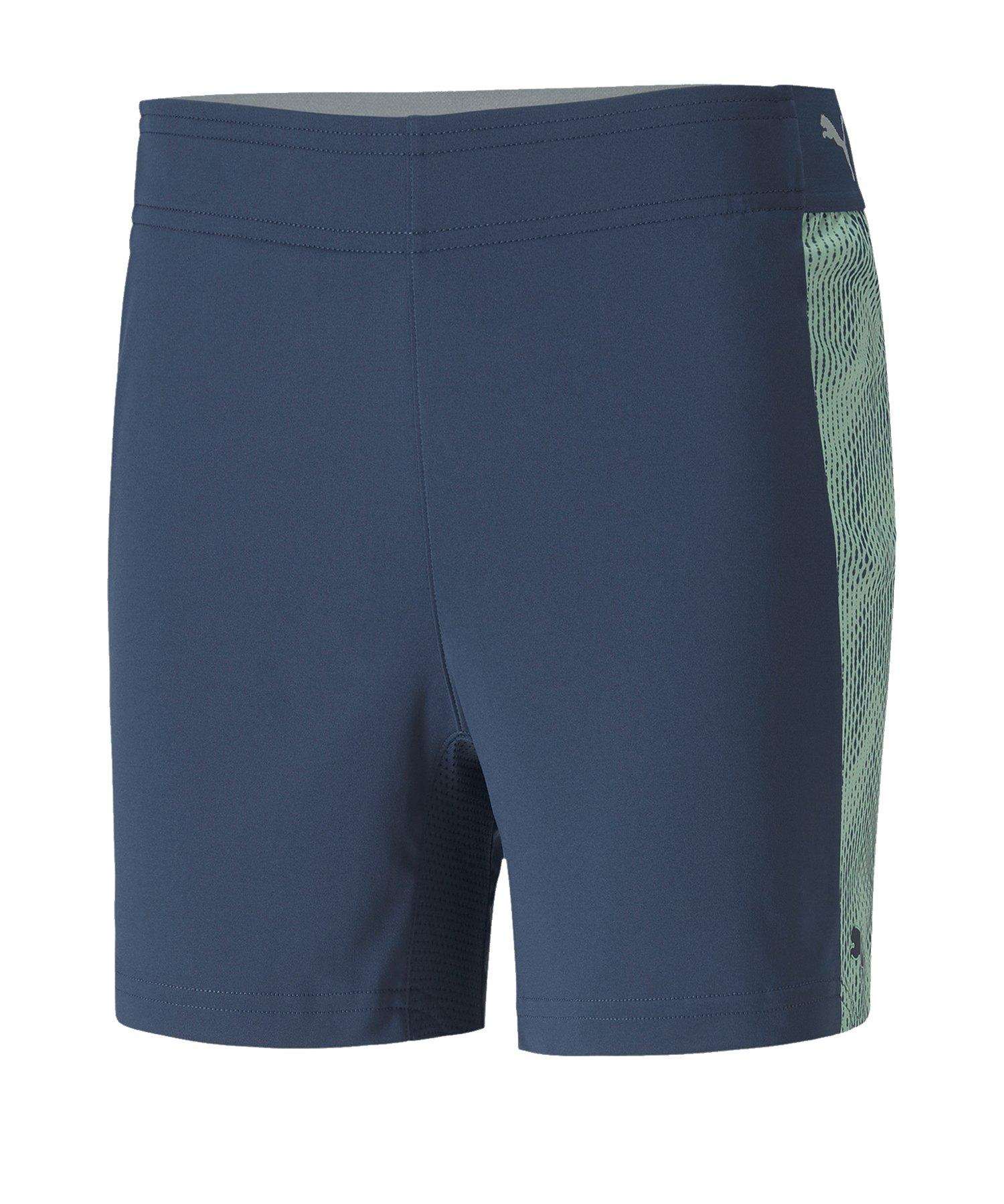 PUMA ftblNXT Short Damen Blau F01 - blau