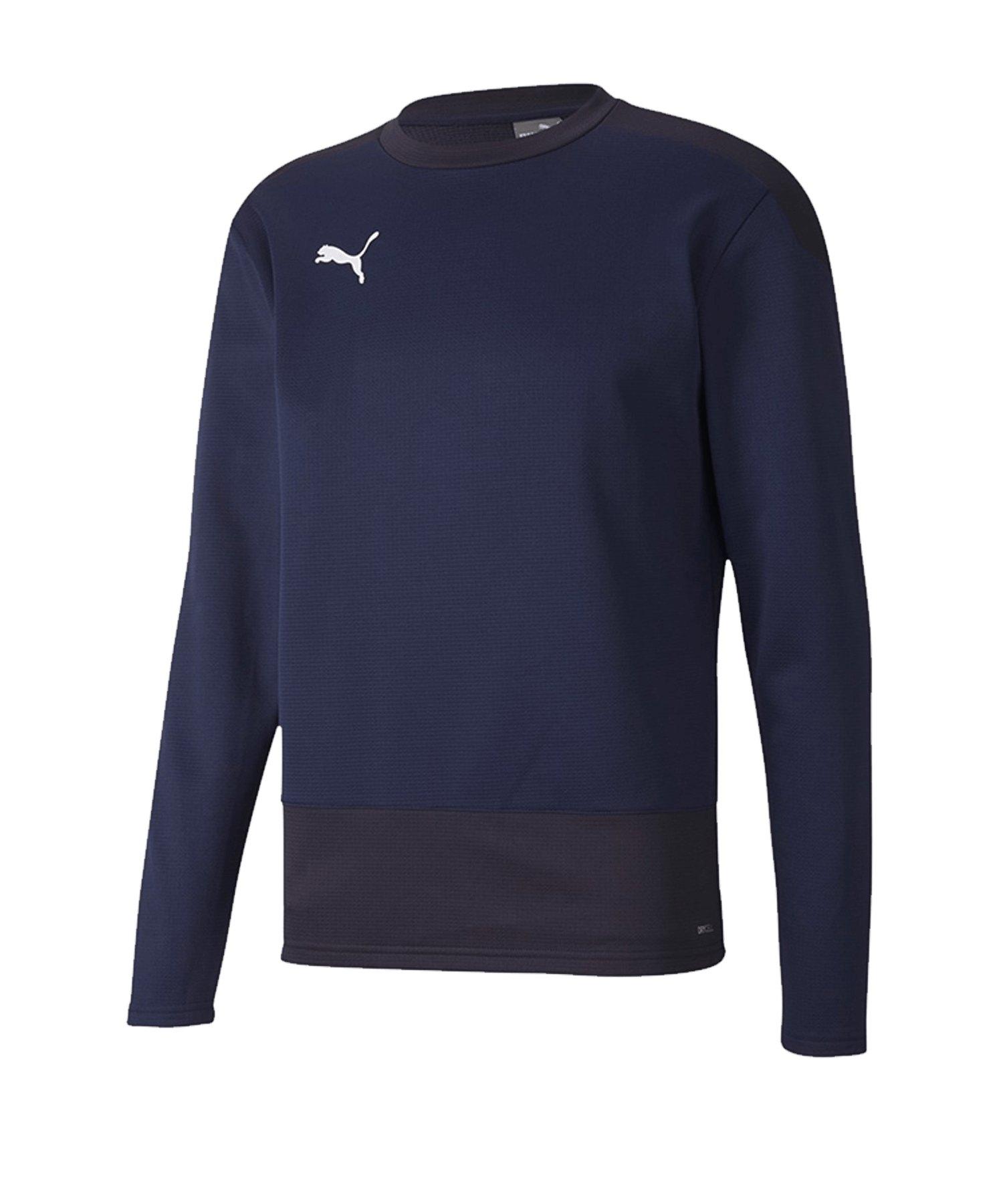 PUMA teamGOAL 23 Training Sweatshirt Kids Blau F06 - blau