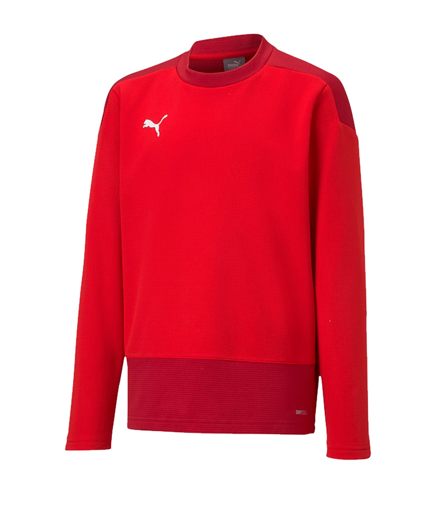 PUMA teamGOAL 23 Training Sweatshirt Kids Rot F01 - rot