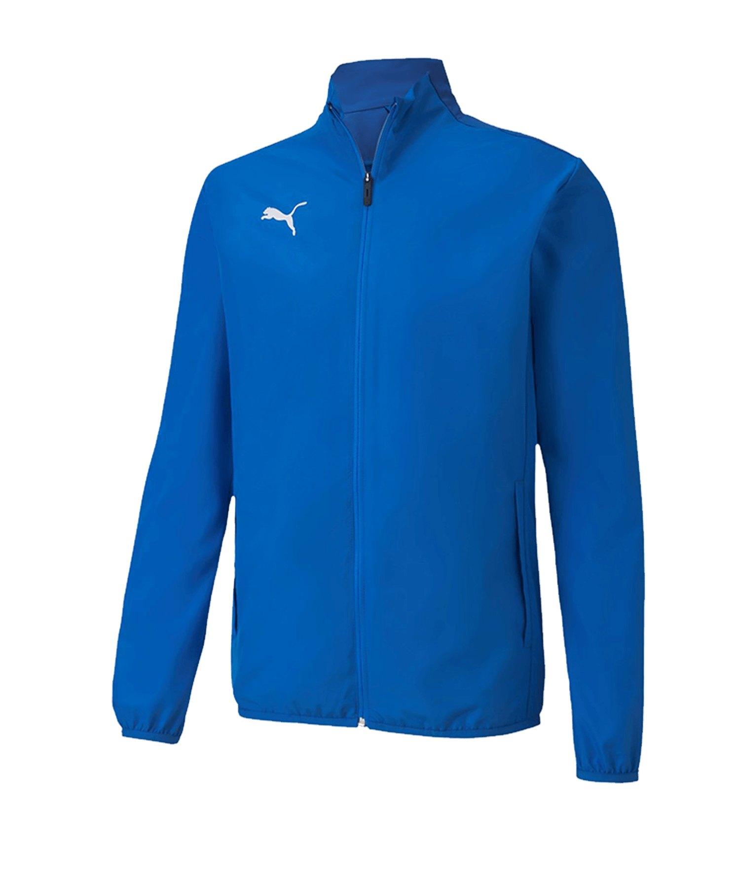 PUMA teamGOAL 23 Sideline Trainingsjacke Blau F02 - blau