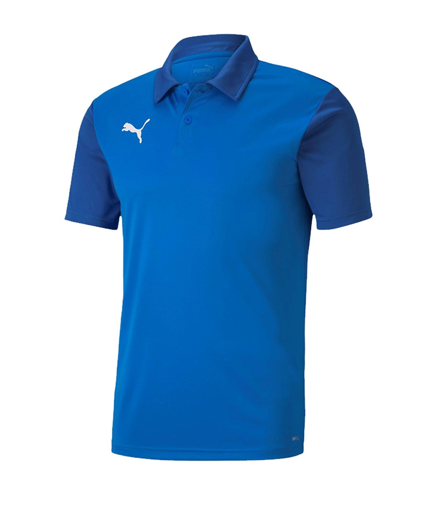 PUMA teamGOAL 23 Sideline Poloshirt Blau F02 - blau