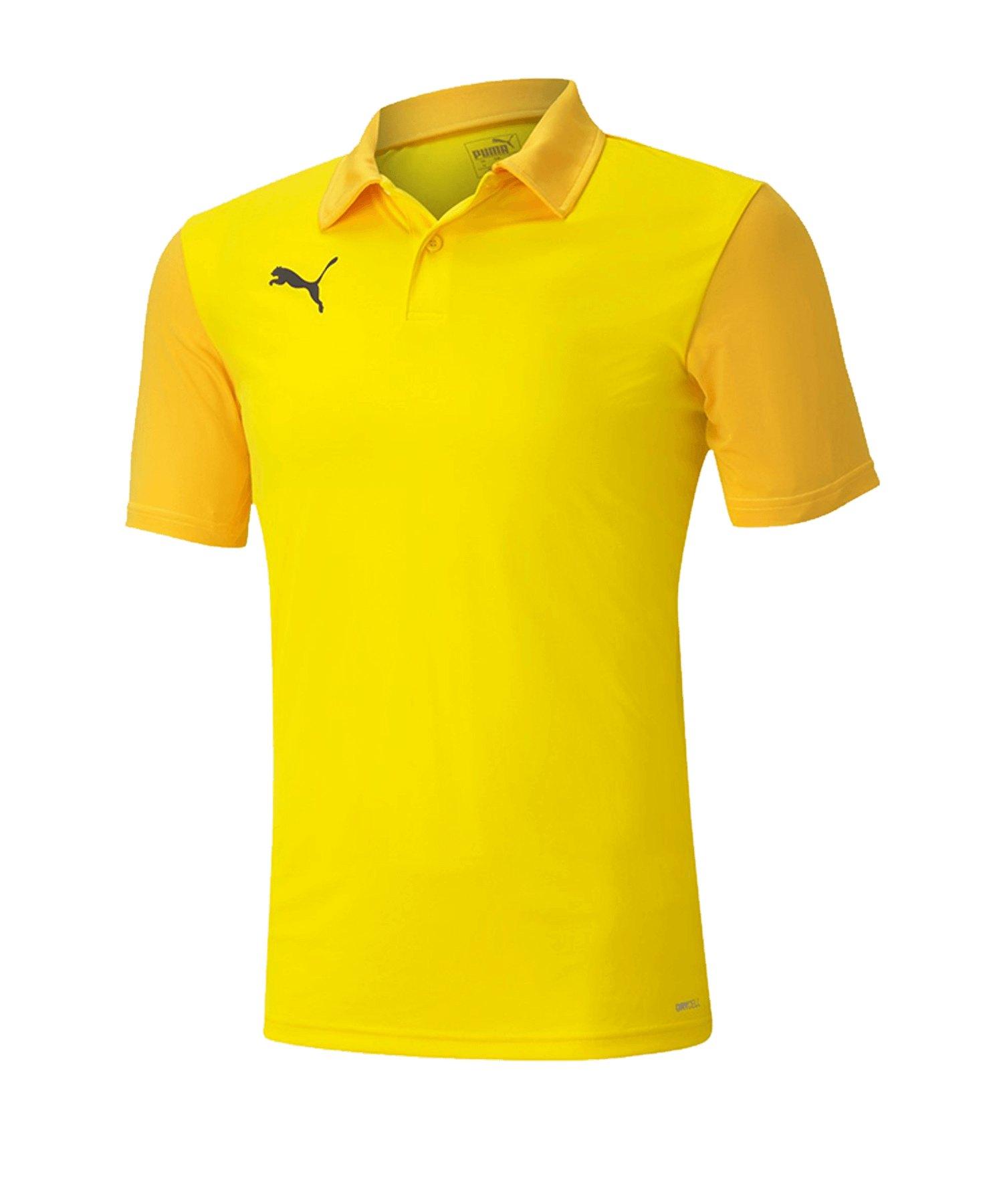 PUMA teamGOAL 23 Sideline Poloshirt Gelb F07 - gelb