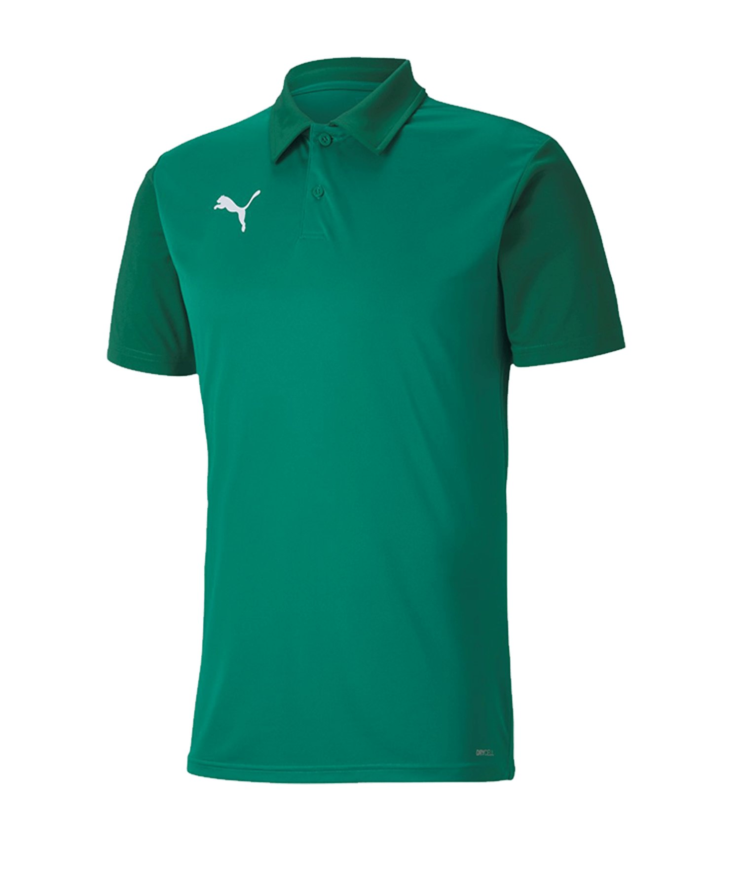 PUMA teamGOAL 23 Sideline Poloshirt Grün F05 - Gruen