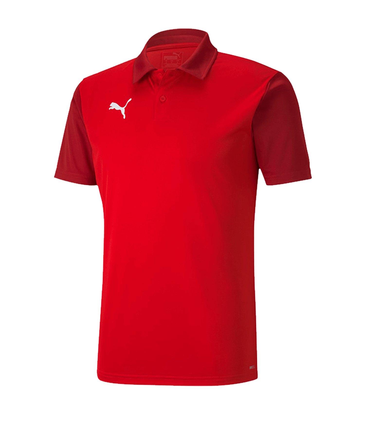 PUMA teamGOAL 23 Sideline Poloshirt Rot F01 - rot