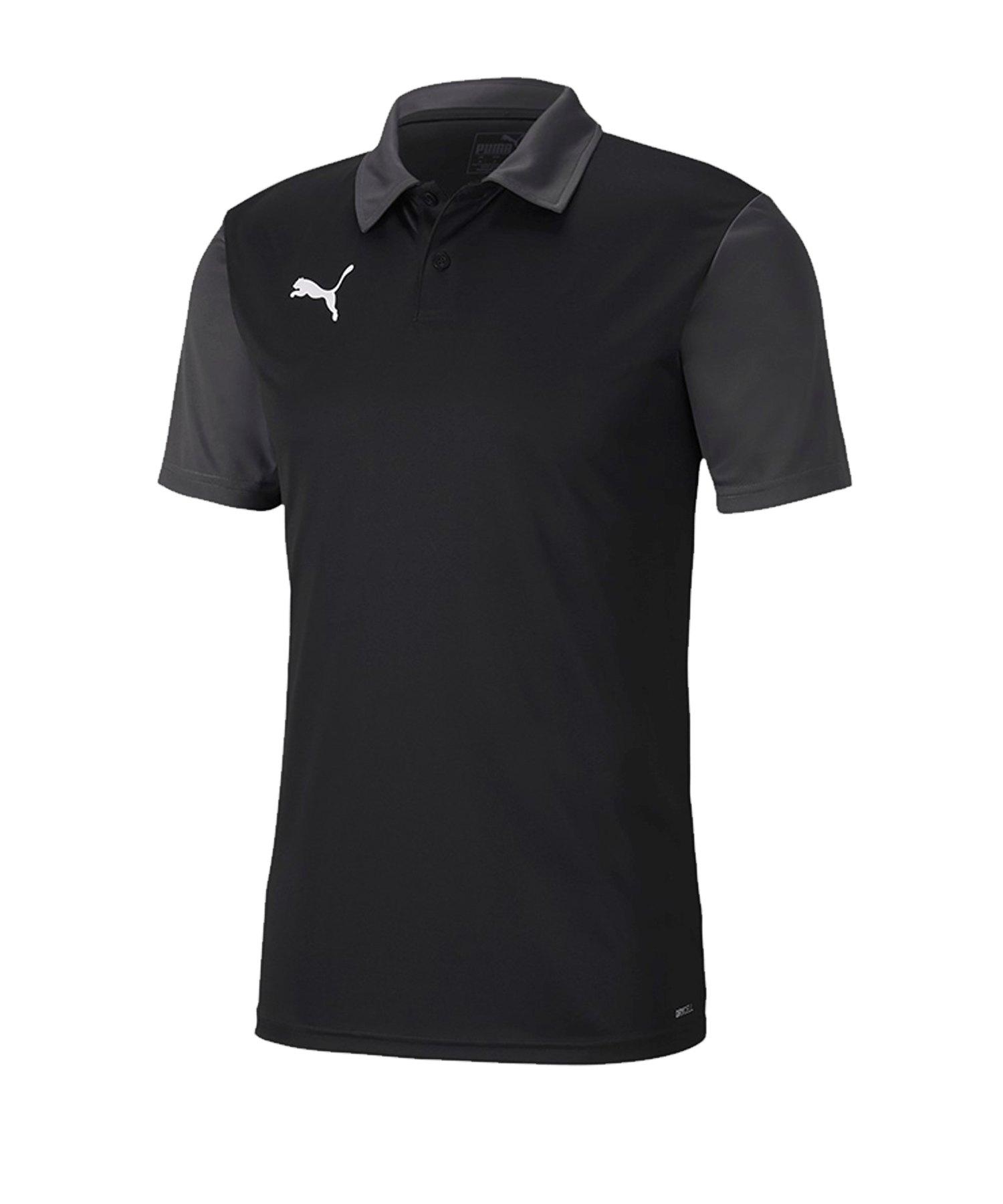 PUMA teamGOAL 23 Sideline Poloshirt Schwarz F03 - schwarz