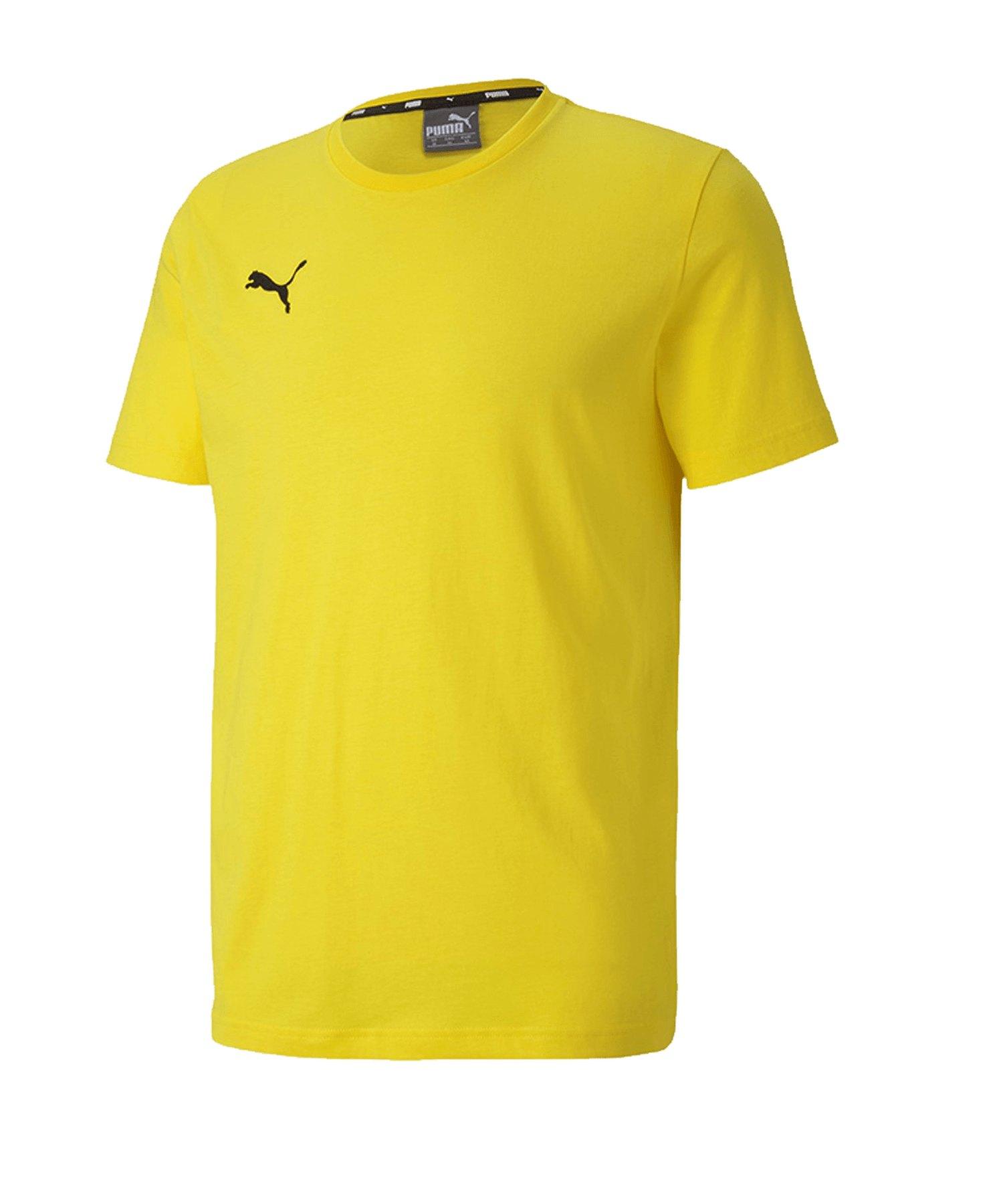 PUMA teamGOAL 23 Casuals Tee T-Shirt Gelb F07 - gelb