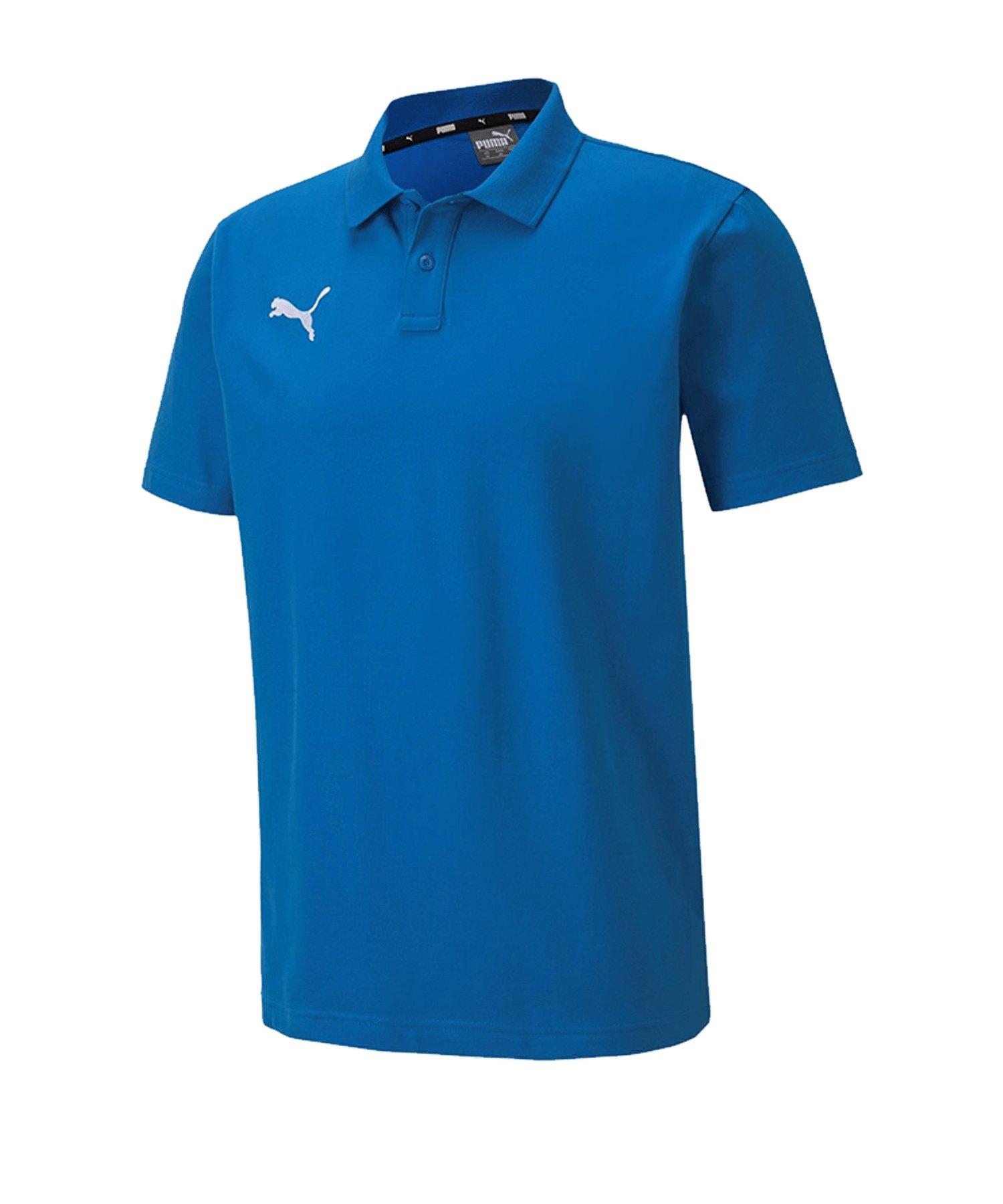 PUMA teamGOAL 23 Casuals Poloshirt Blau F02 - blau