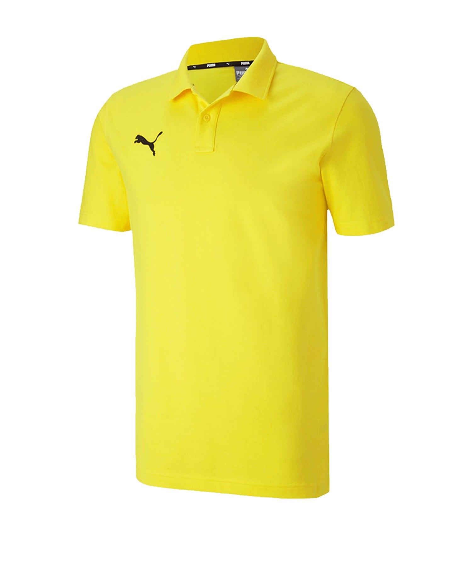 PUMA teamGOAL 23 Casuals Poloshirt Gelb F07 - gelb