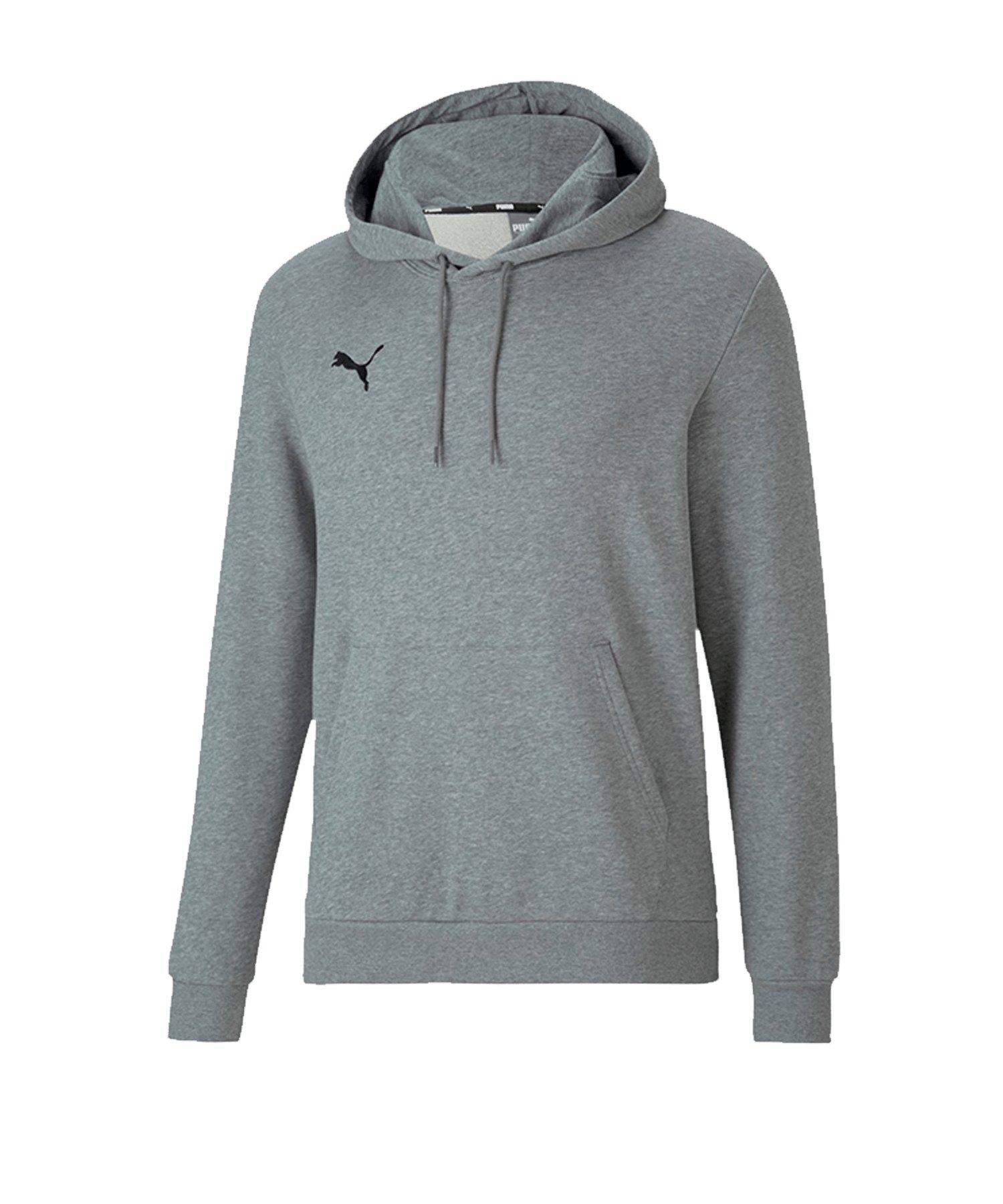 PUMA teamGOAL 23 Kapuzensweatshirt Grau F033 - grau