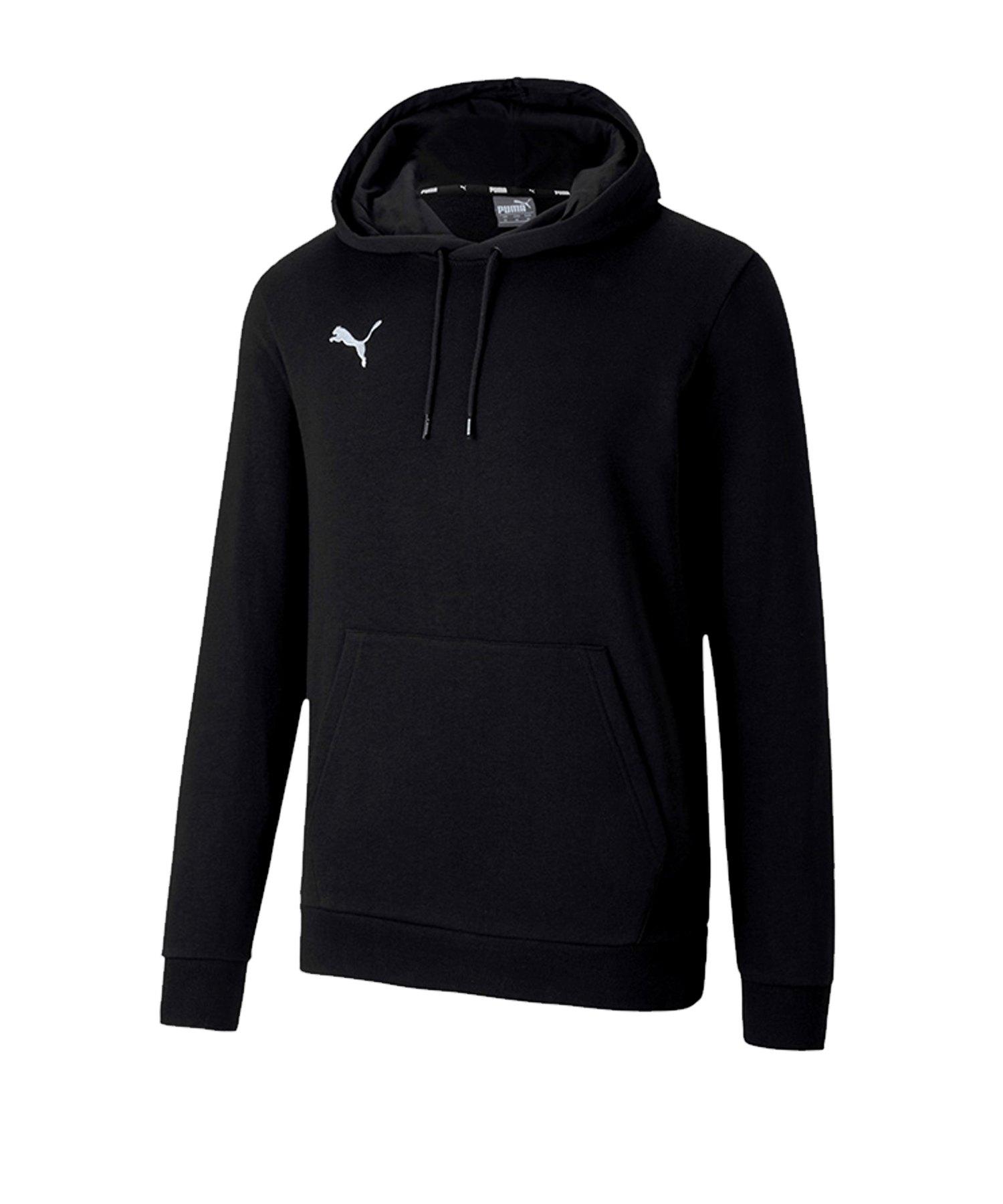 PUMA teamGOAL 23 Kapuzensweatshirt Schwarz F03 - schwarz