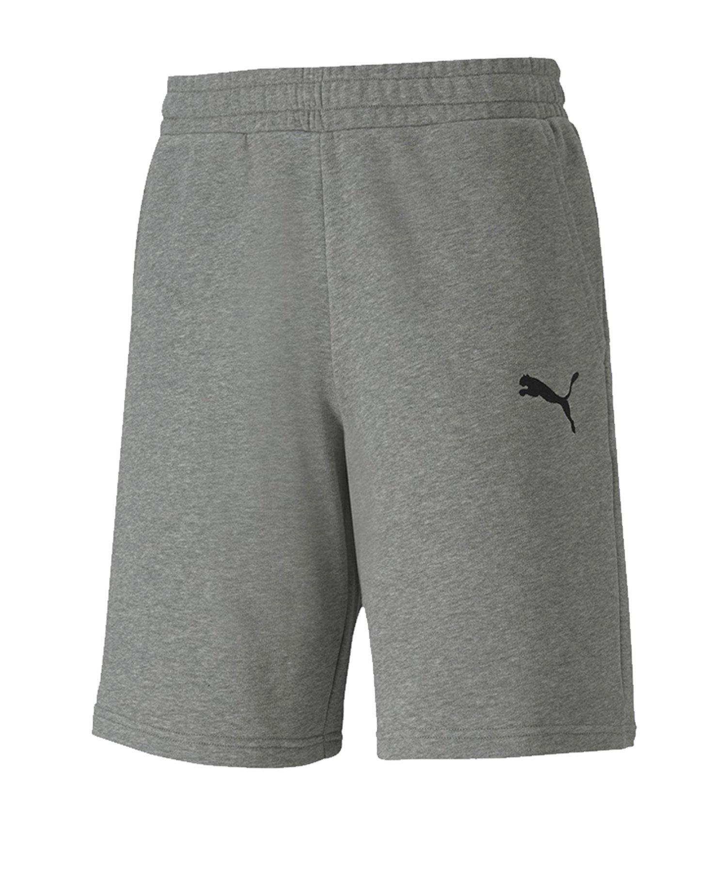 PUMA teamGOAL 23 Casuals Shorts Grau F33 - grau