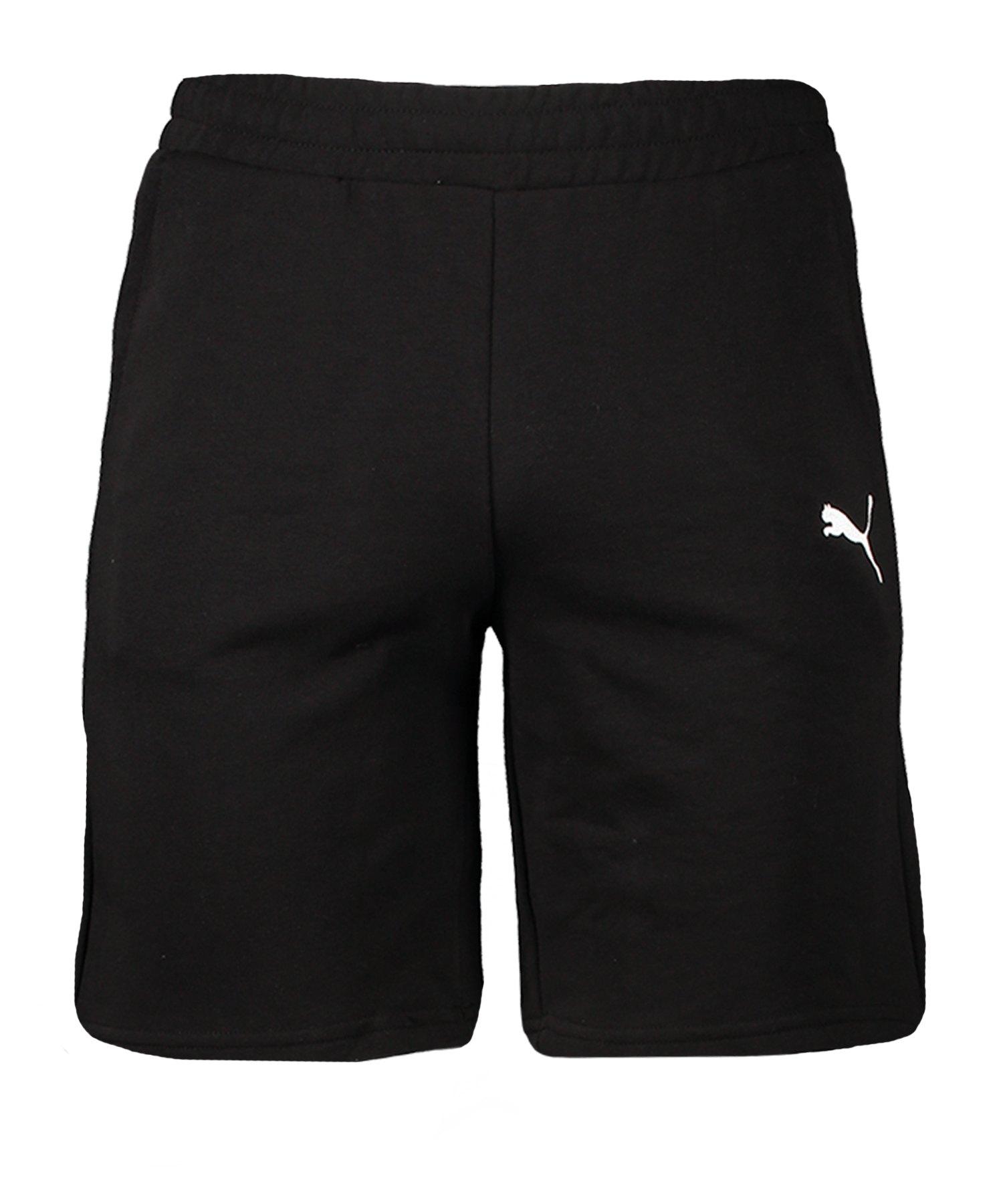 PUMA teamGOAL 23 Casuals Shorts Schwarz F03 - schwarz