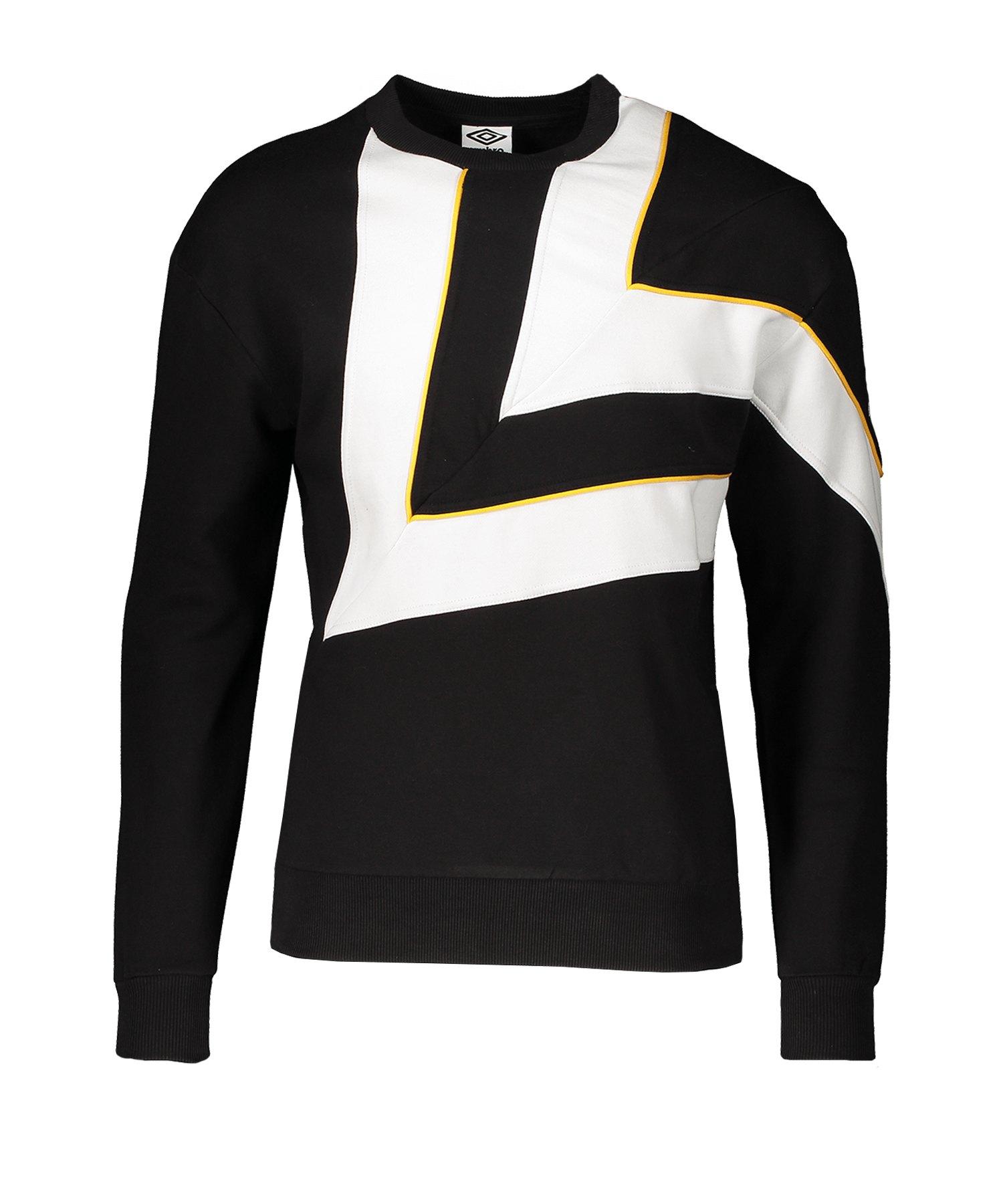 Umbro Diamond Cut Kapuzensweatshirt Schwarz FL3 - schwarz