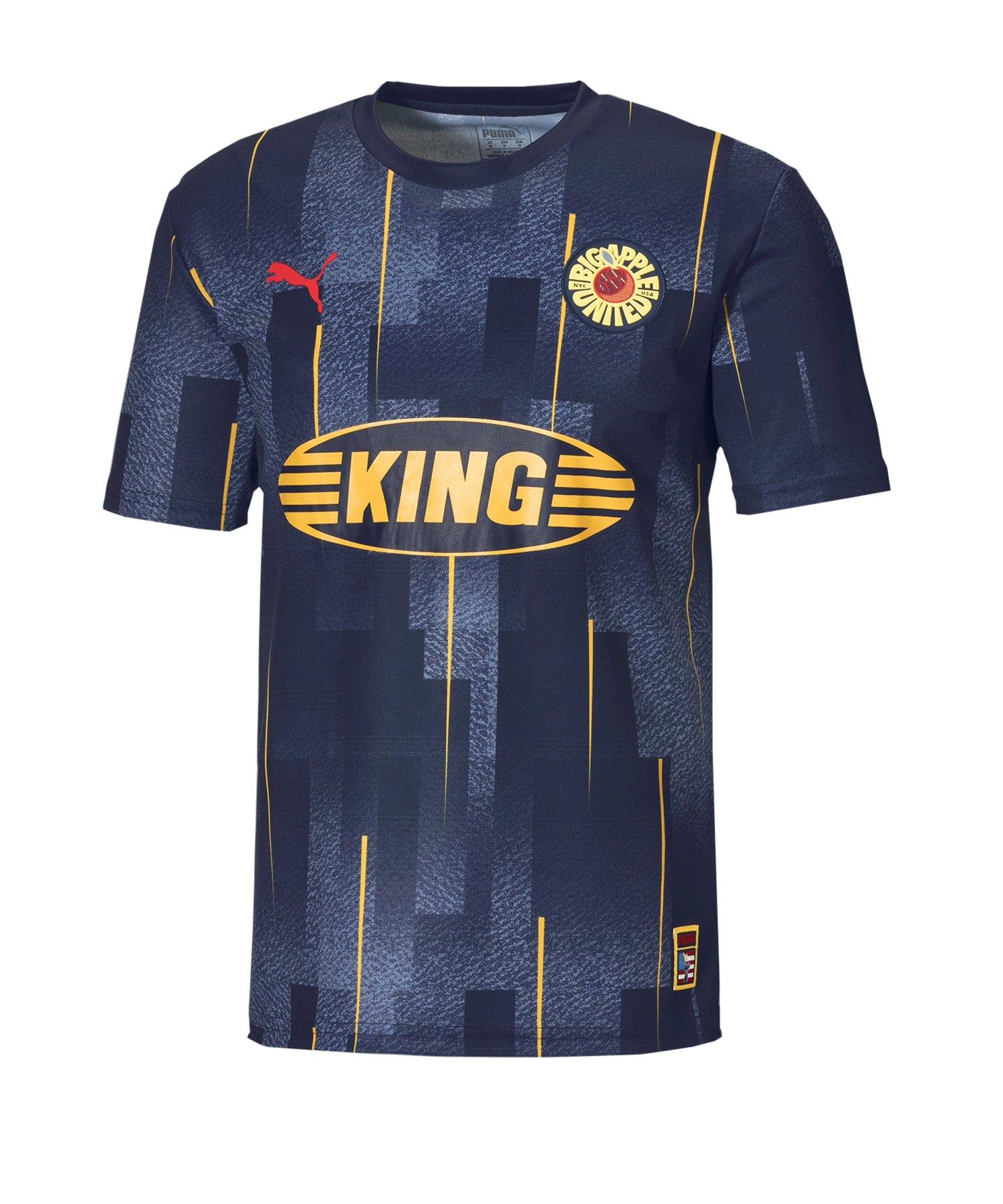 PUMA City Influence New York T-Shirt Blau F01 - blau