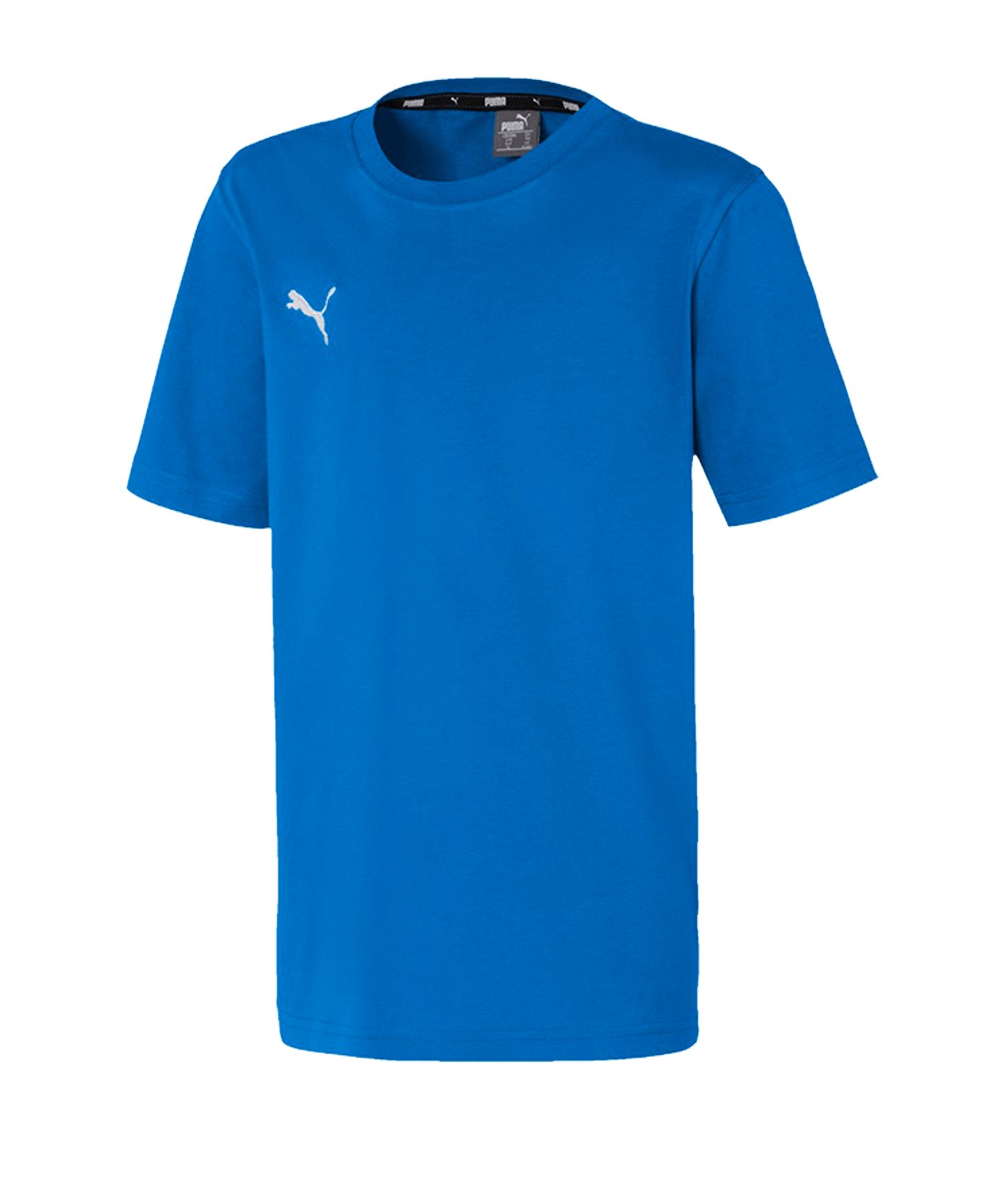 PUMA teamGOAL 23 Casuals Tee T-Shirt Kids Blau F02 - blau