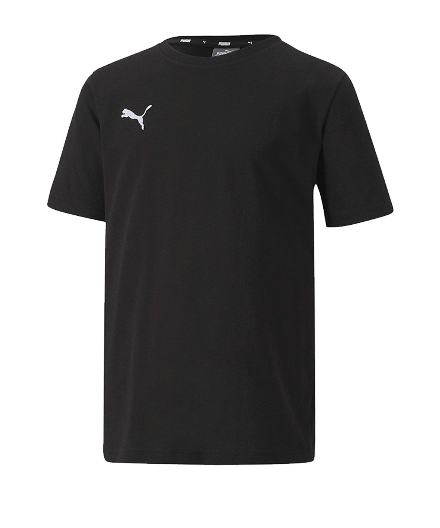 PUMA teamGOAL 23 Casuals Tee T-Shirt Kids F03 - schwarz