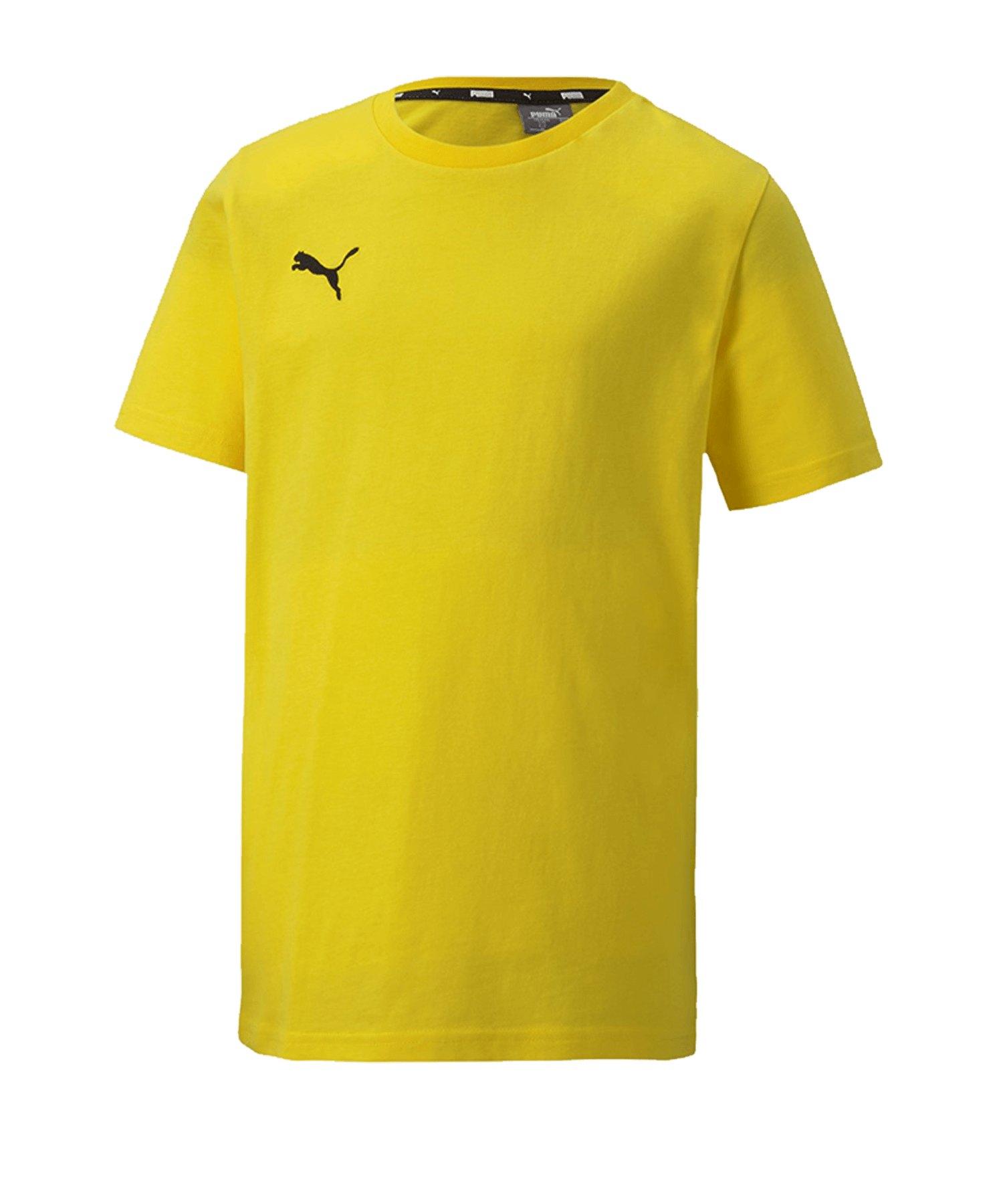 PUMA teamGOAL 23 Casuals Tee T-Shirt Kids Gelb F07 - gelb