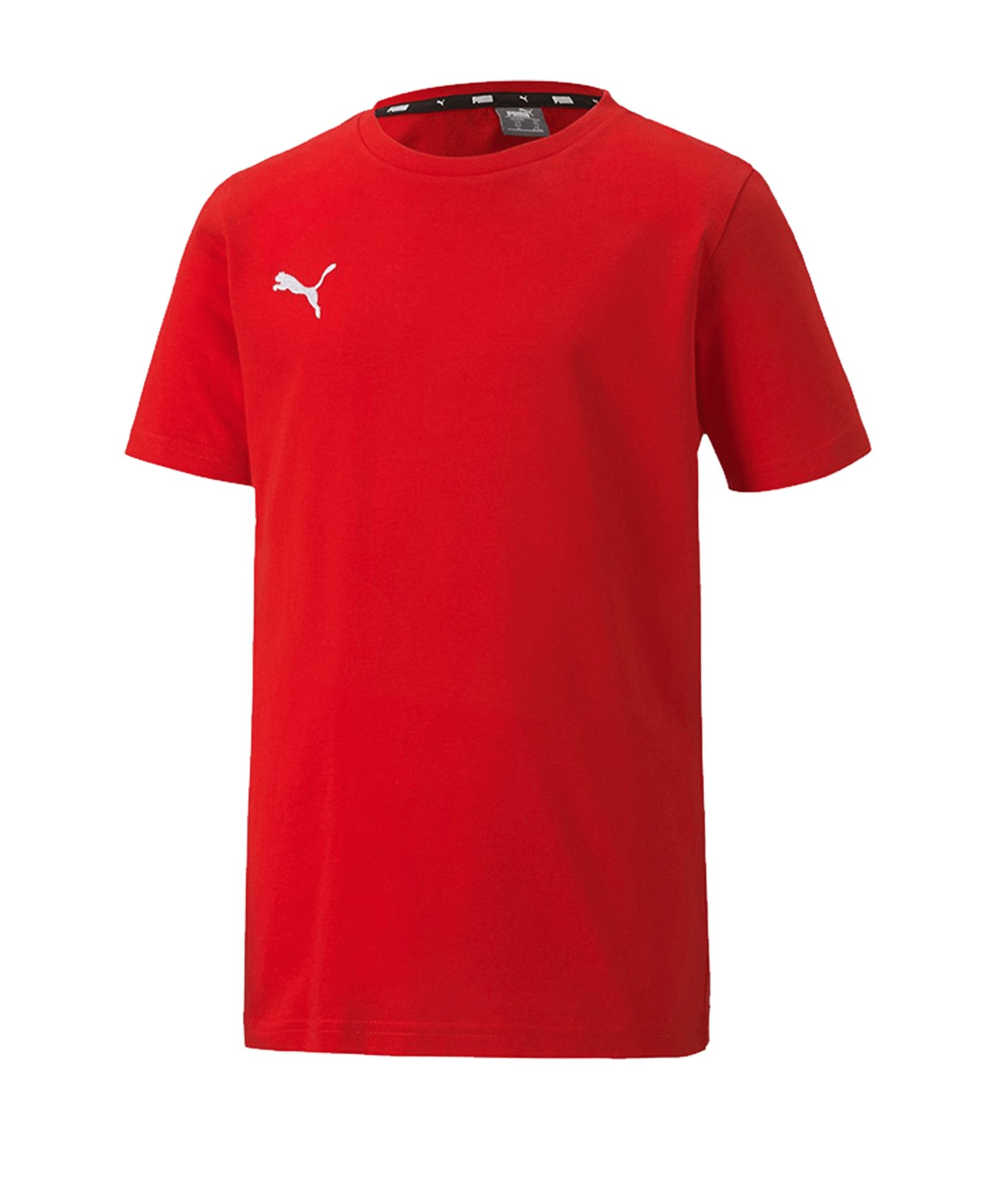PUMA teamGOAL 23 Casuals Tee T-Shirt Kids Rot F01 - rot