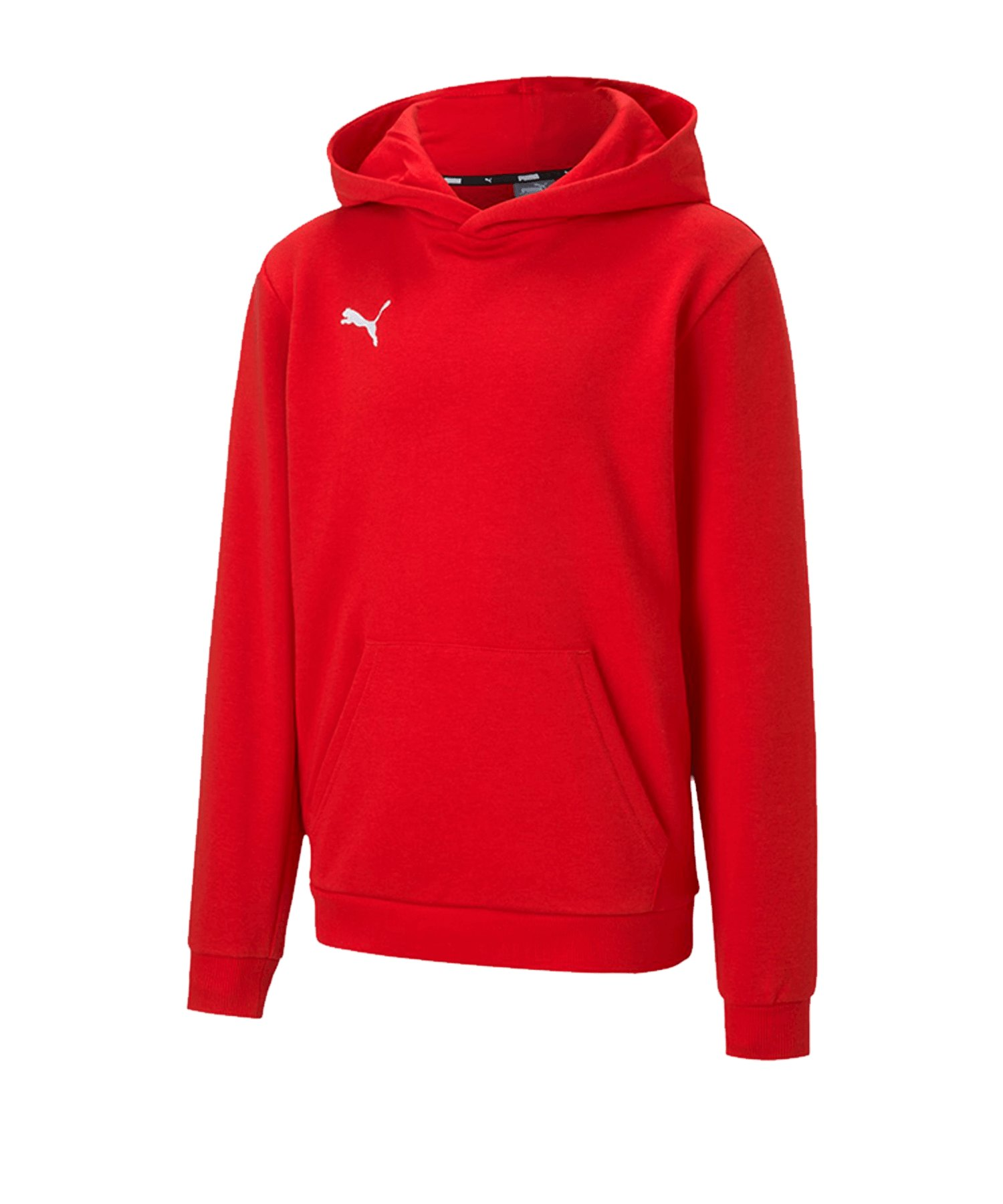 PUMA teamGOAL 23 Casuals Hoody Kids Rot F01 - rot