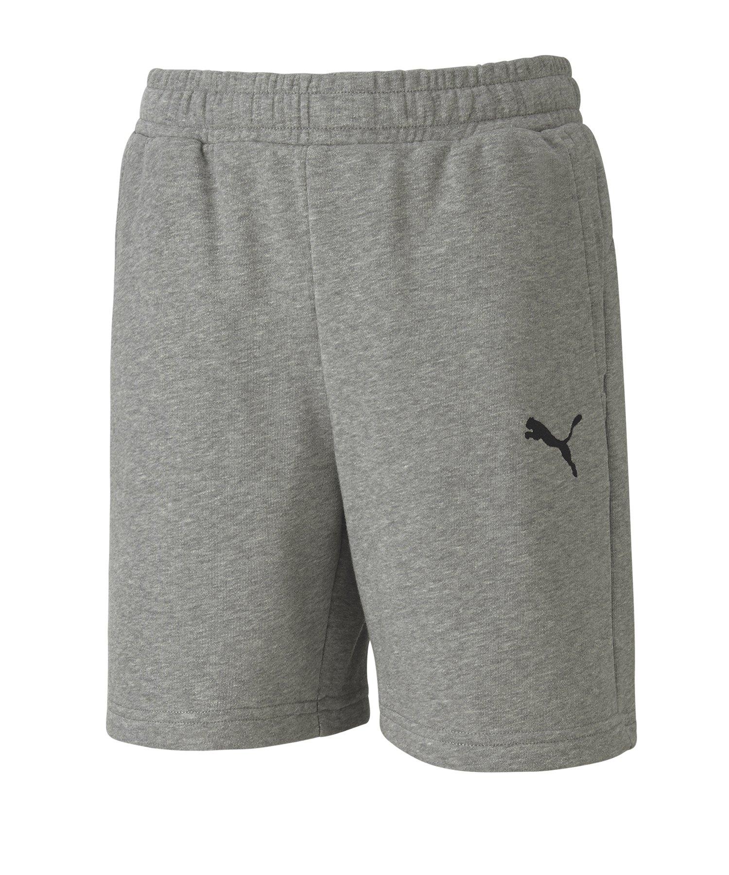 PUMA teamGOAL 23 Casuals Shorts Kids Grau F33 - grau